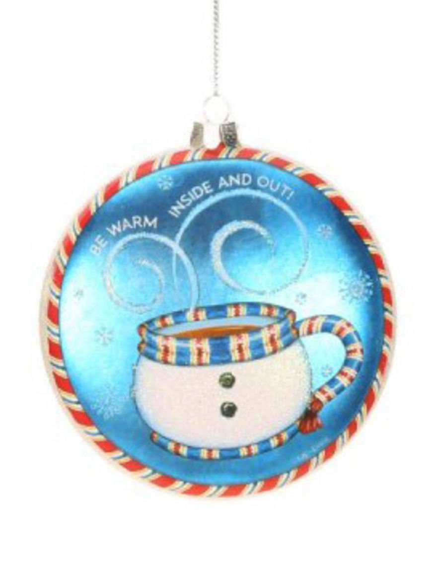 Lynn Roberts Blue Multi Ornaments Holiday Decor