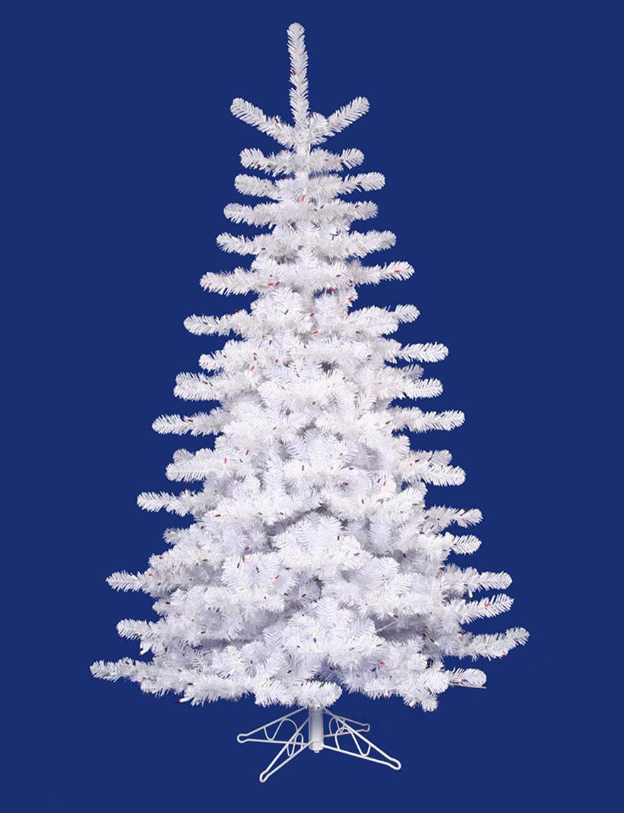 Vickerman White Christmas Trees Holiday Decor