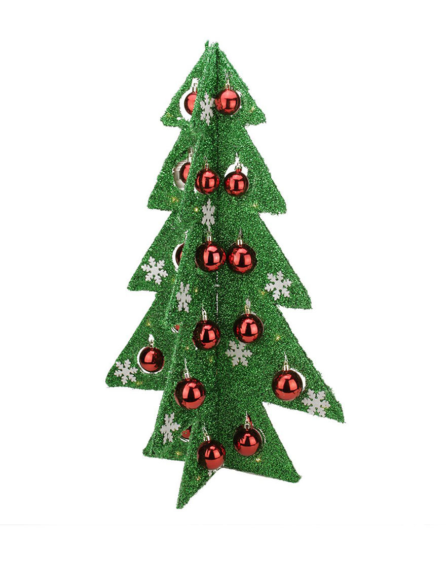northlight battery operated tinsel christmas tree tabletop decoration stage stores