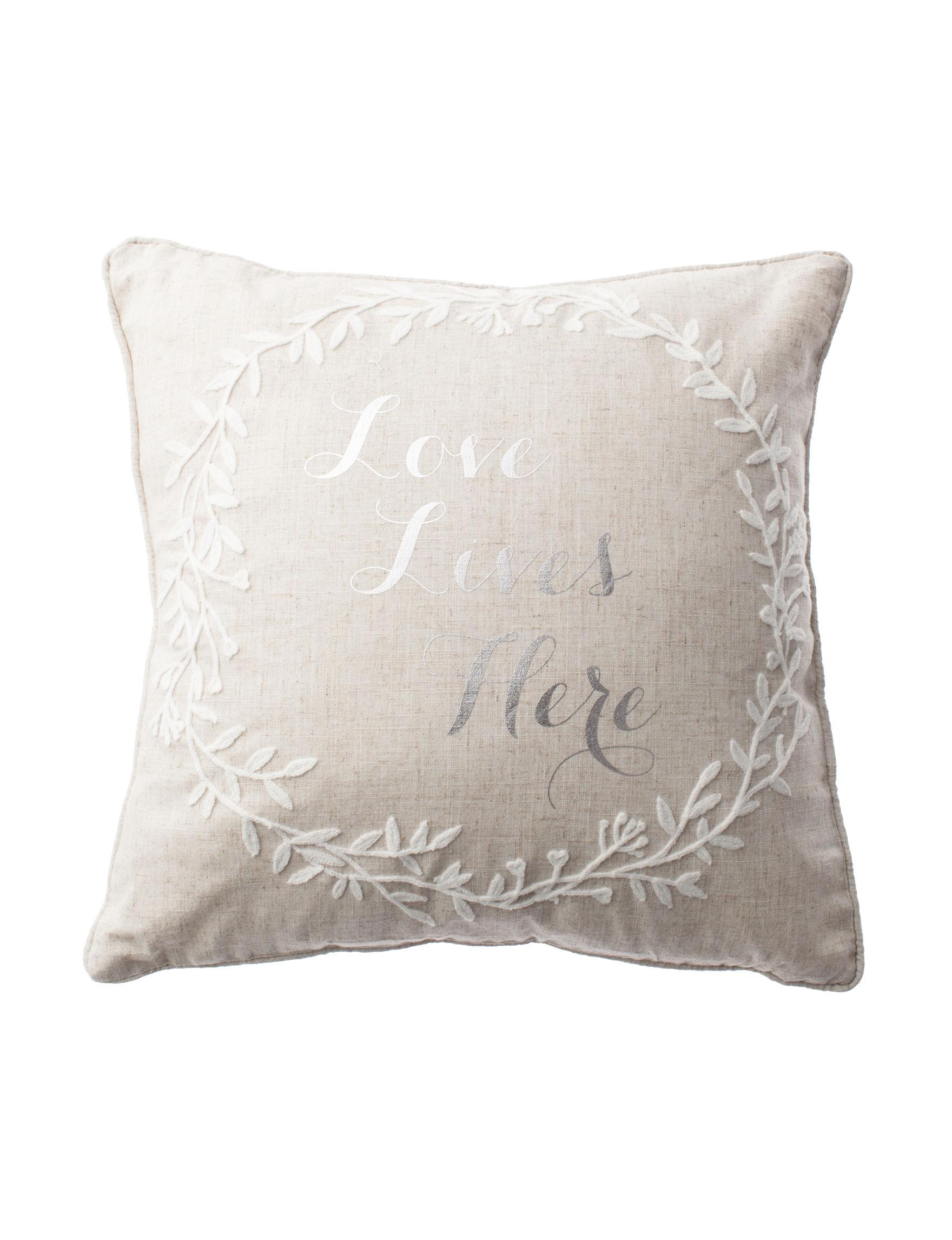 Deco Grey Decorative Pillows