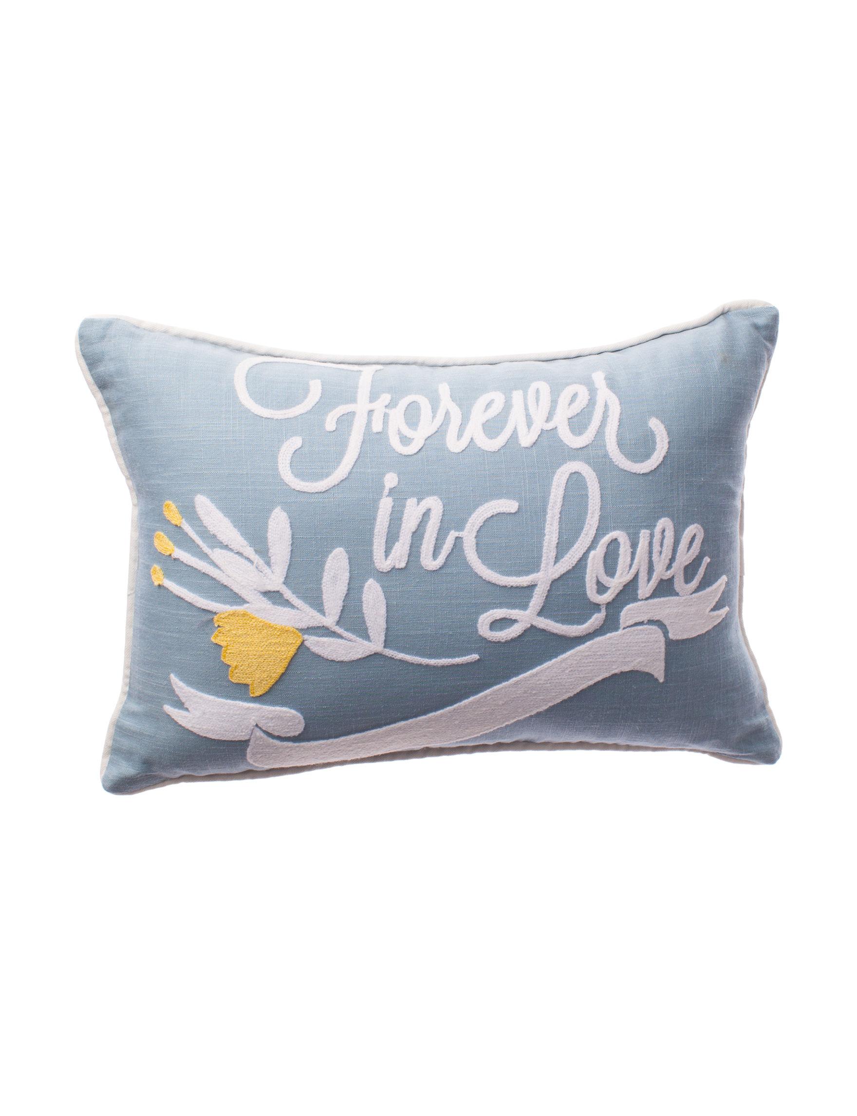Deco Blue Decorative Pillows