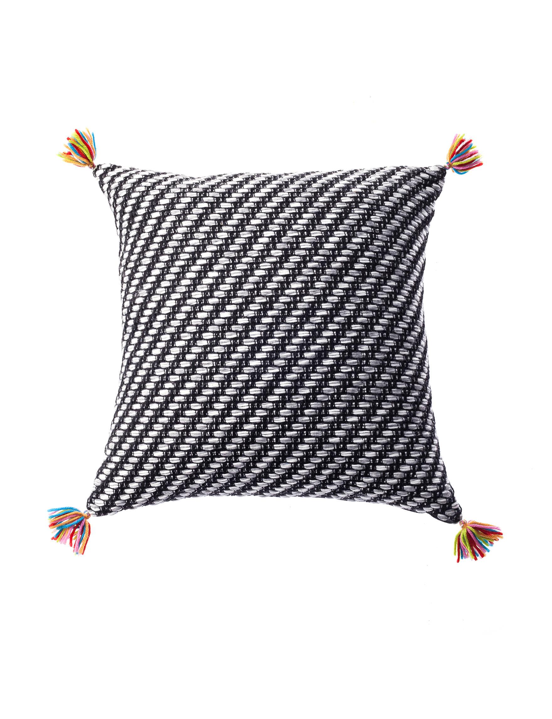 Deco Black Decorative Pillows