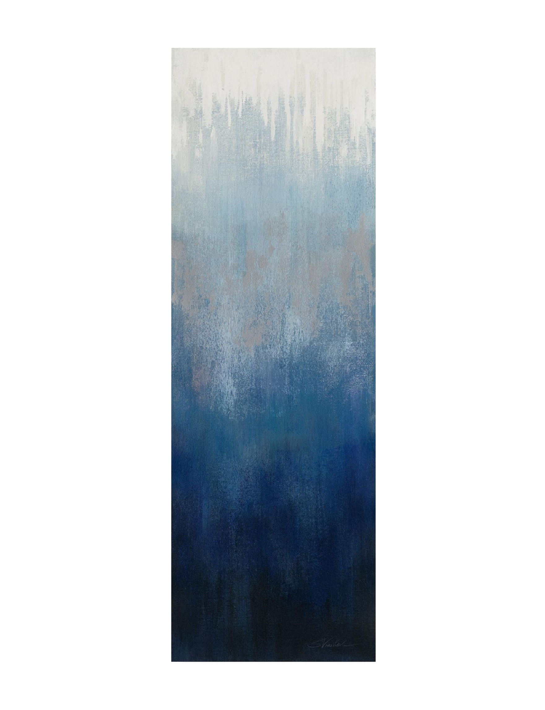 Trademark Fine Art Blue Multi Wall Art Wall Decor