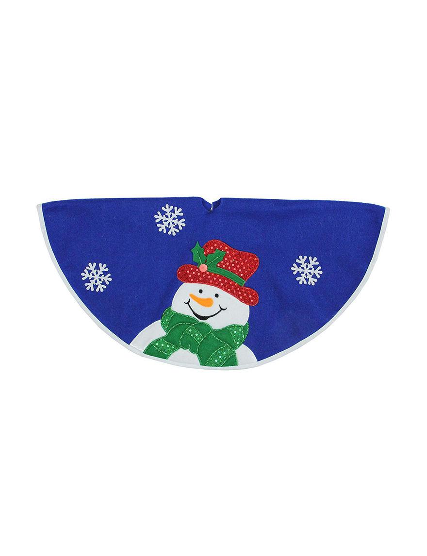 Northlight Blue Decorative Objects Stockings & Tree Skirts Holiday Decor