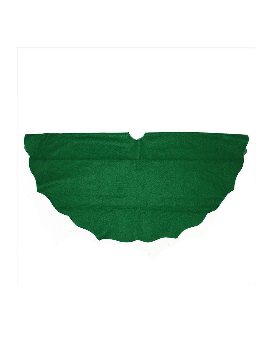 Northlight Green Stockings & Tree Skirts Holiday Decor