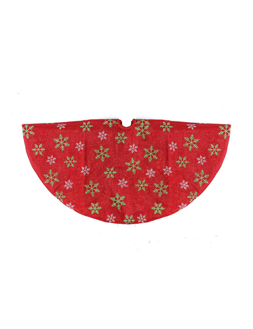 Northlight Red Decorative Objects Stockings & Tree Skirts Holiday Decor
