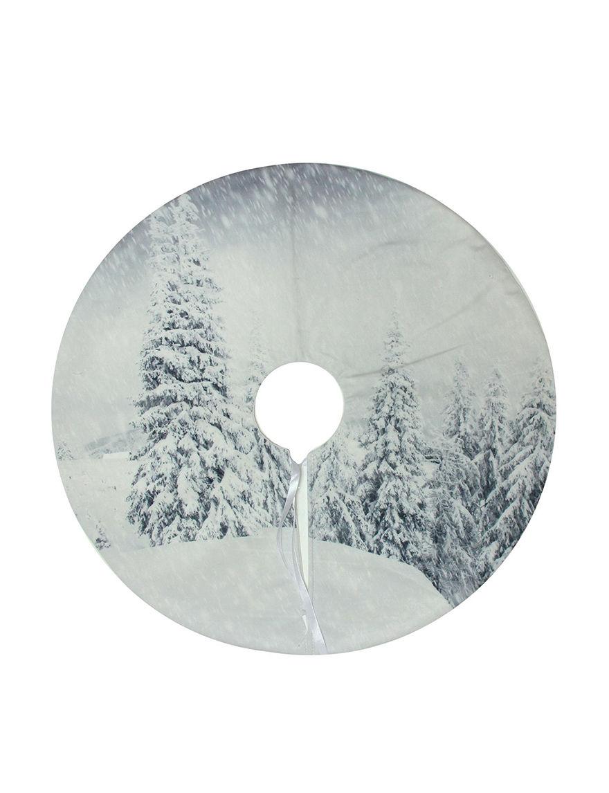 Northlight White Decorative Objects Stockings & Tree Skirts Holiday Decor
