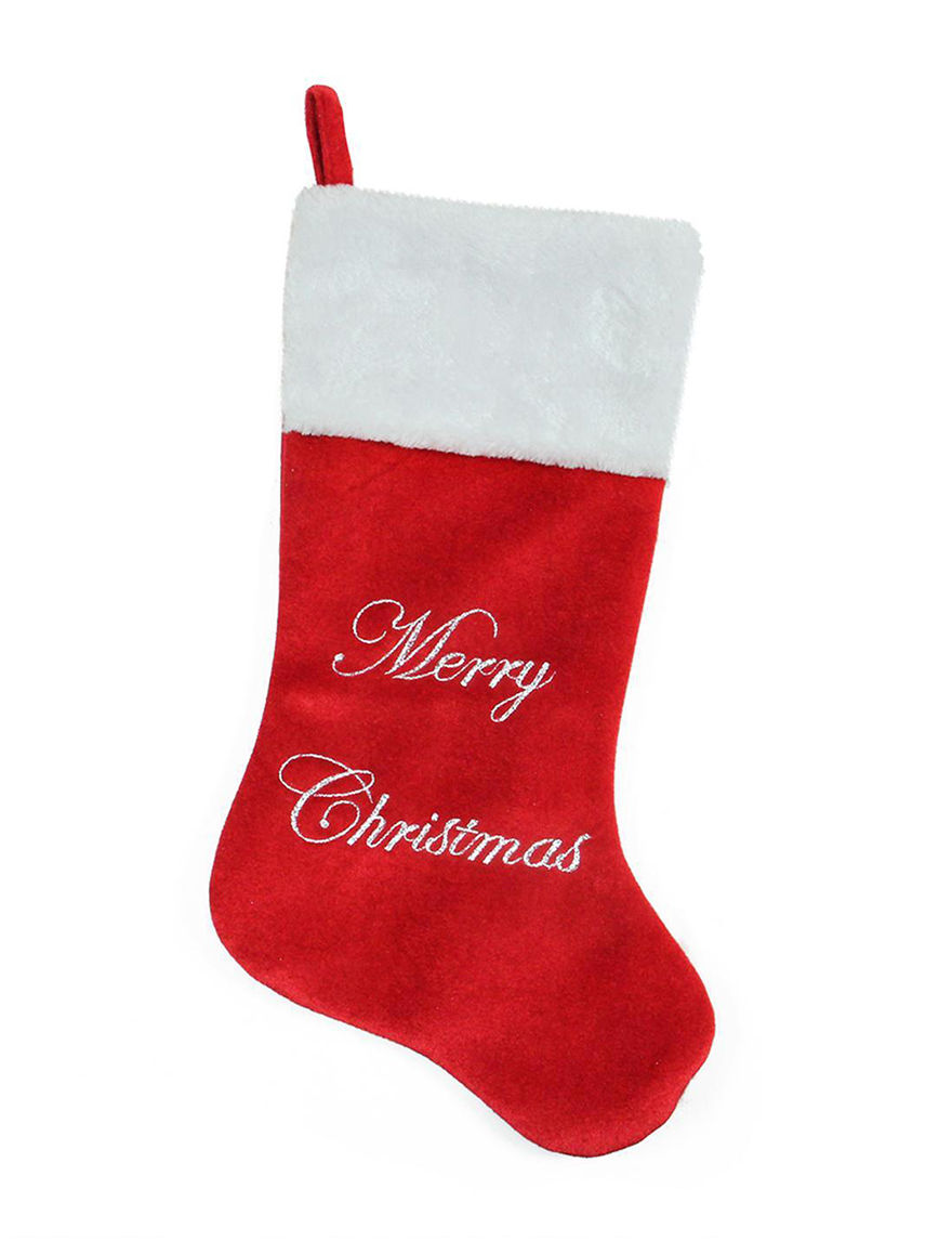 Northlight Red Stockings & Tree Skirts Holiday Decor