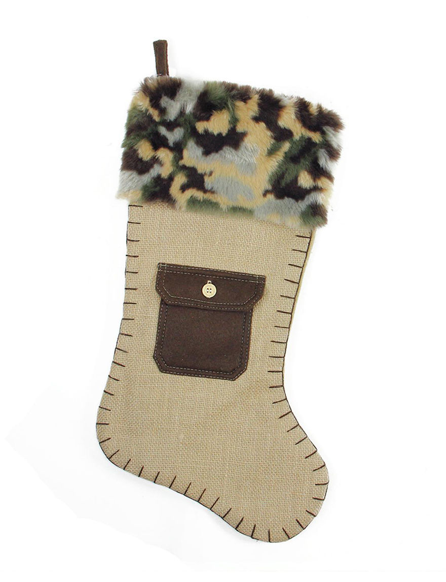Northlight Beige Stockings & Tree Skirts Holiday Decor