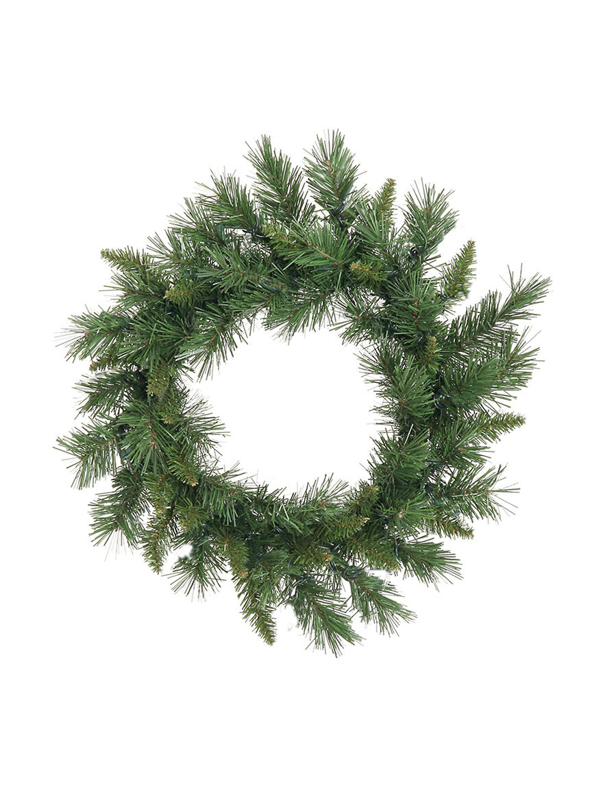 Vickerman Green Wreaths & Garland Holiday Decor
