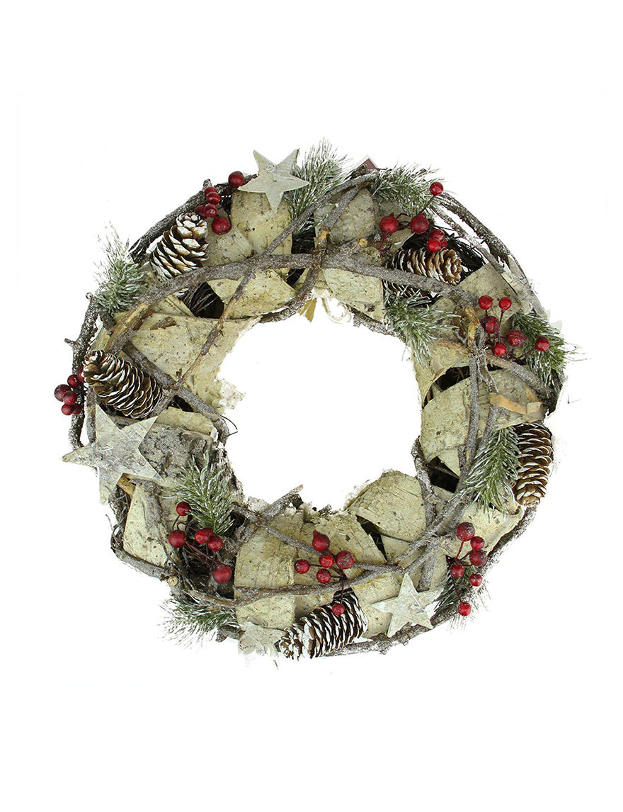 Northlight White Wreaths & Garland Holiday Decor