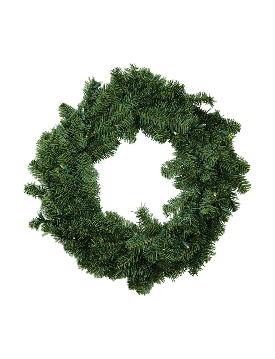 Darice Green Wreaths & Garland Holiday Decor