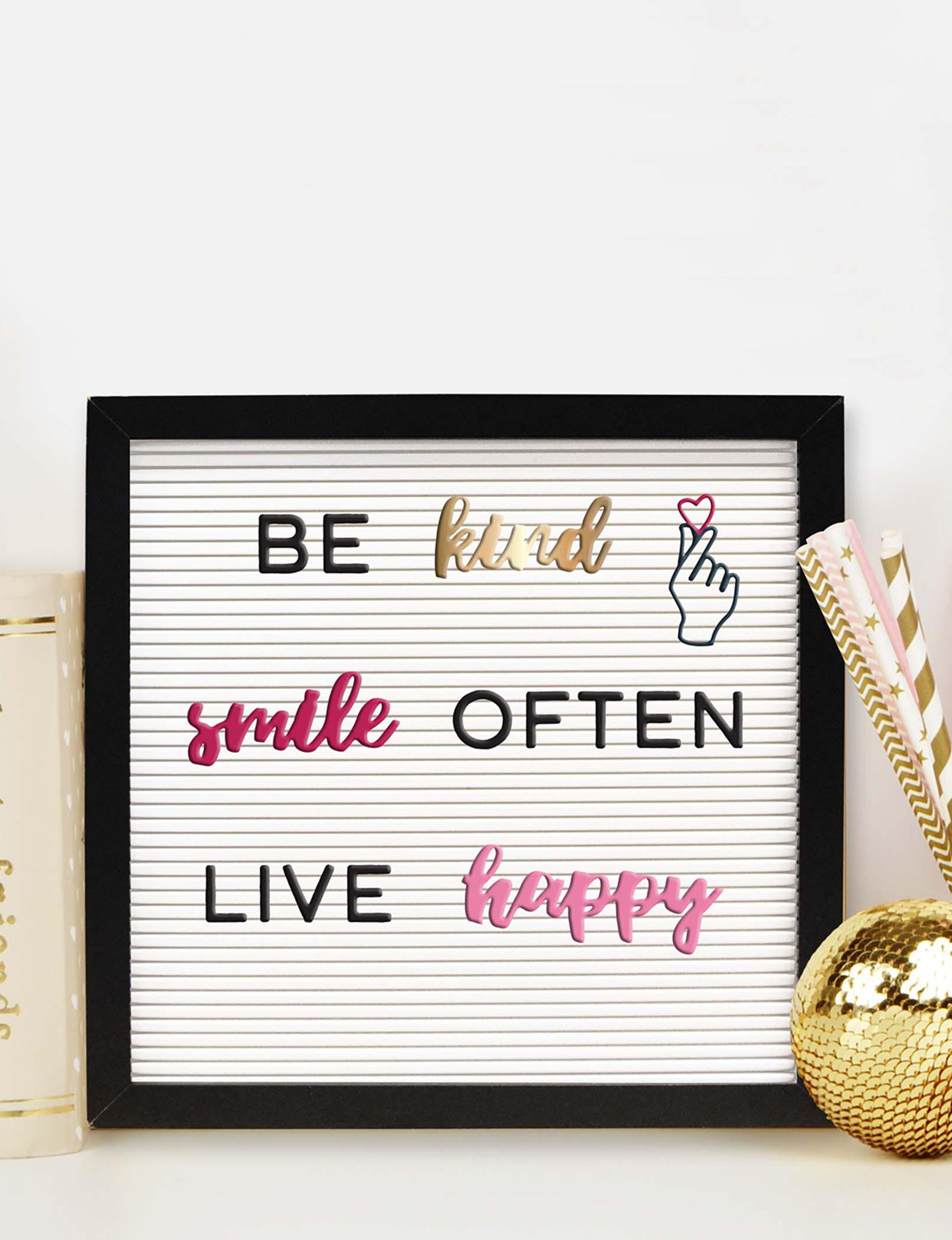 New View Pc Inspirational Words Icons Letter Board Pack - Inspirational words for new home