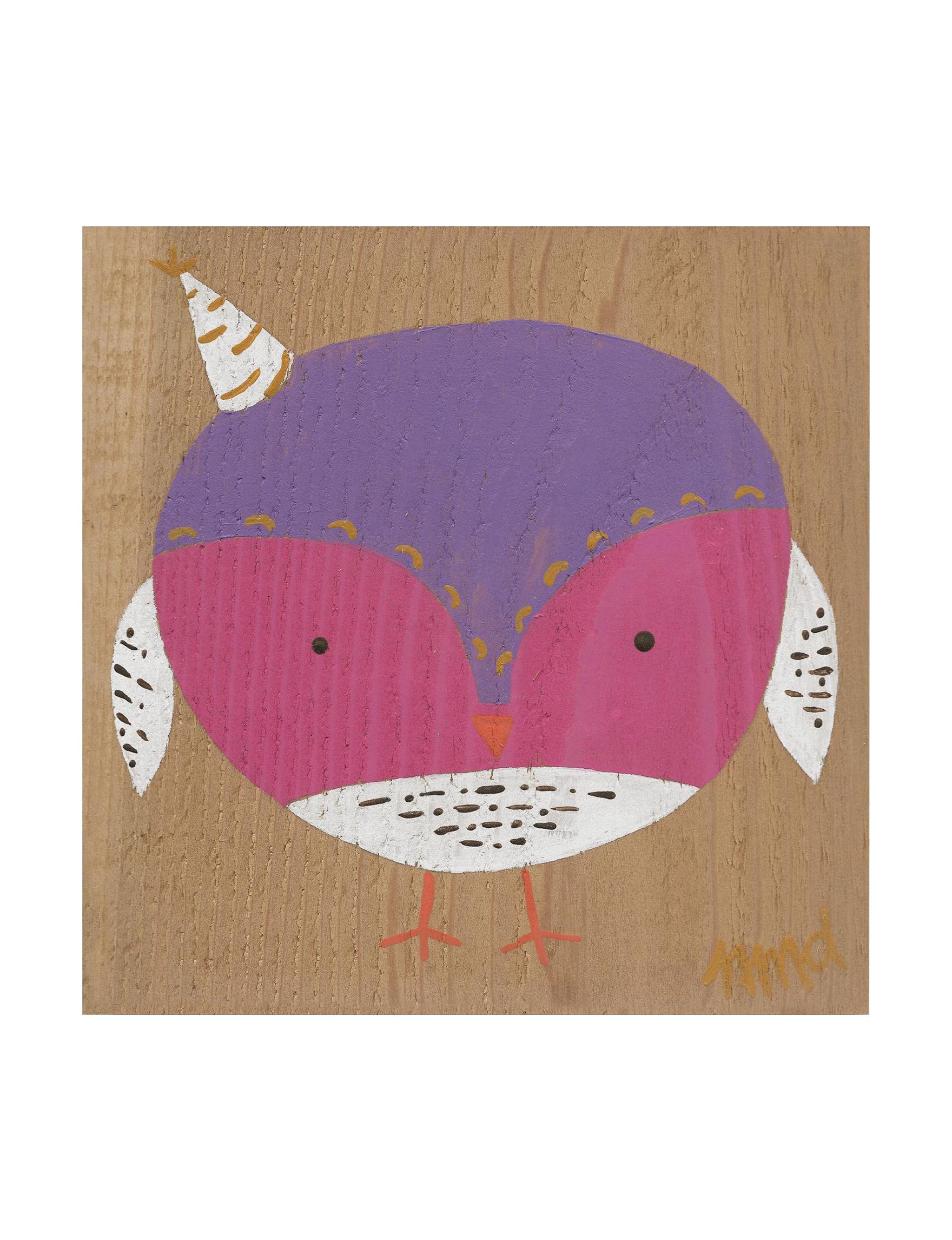 Trademark Fine Art Pink / Purple Wall Art Wall Decor