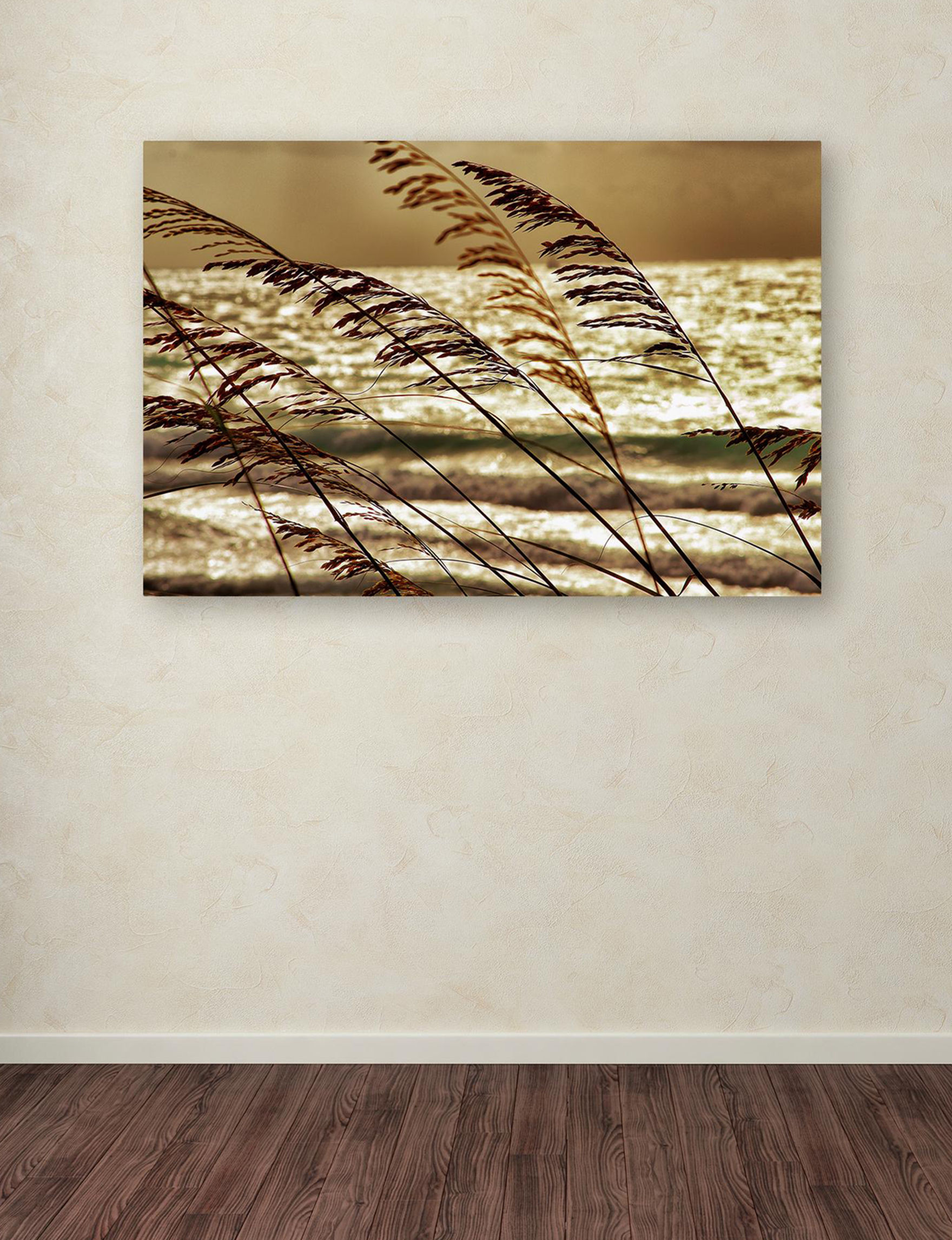 Trademark Fine Art Brown Wall Art Home Accents Wall Decor