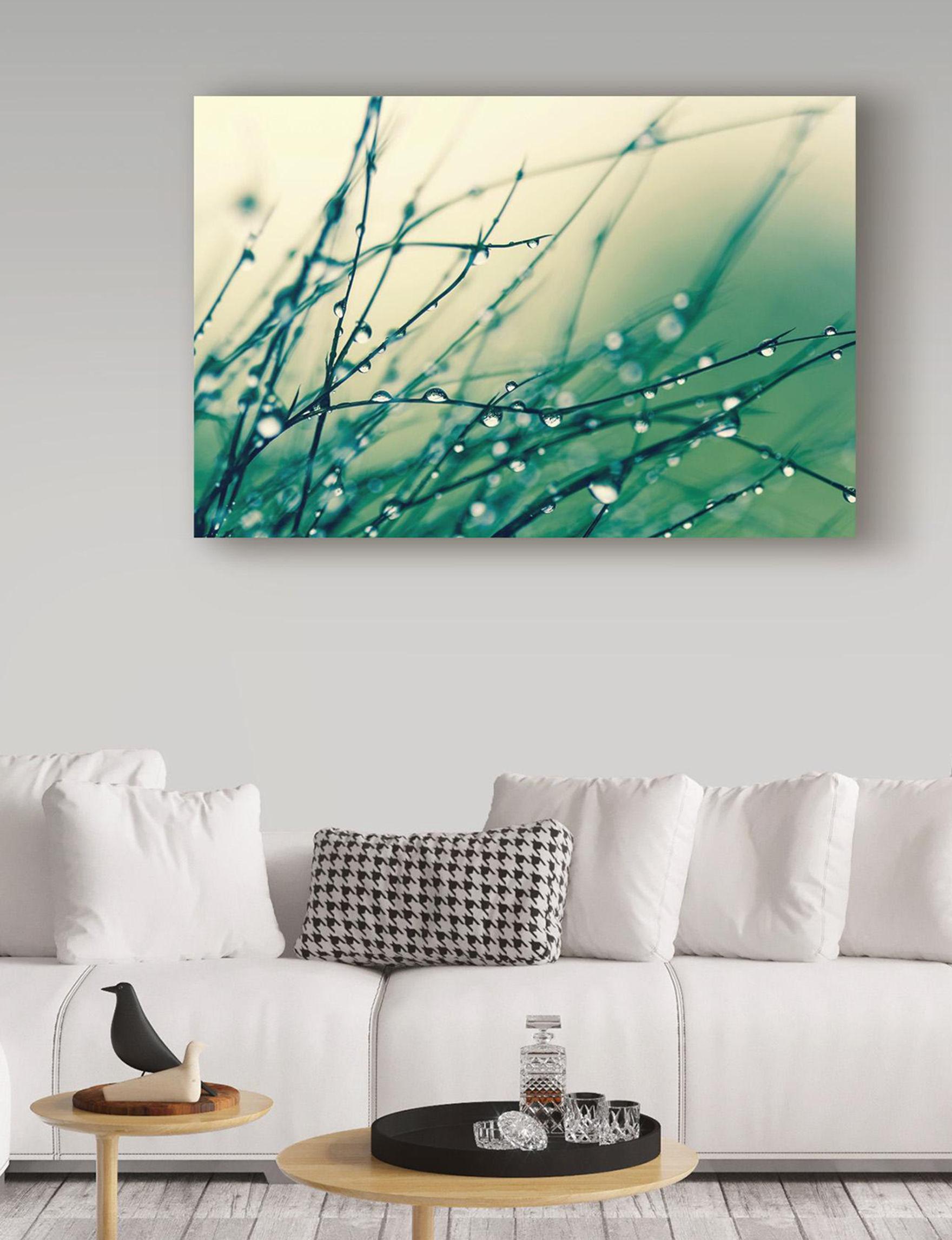 Trademark Fine Art Green Wall Art Home Accents Wall Decor