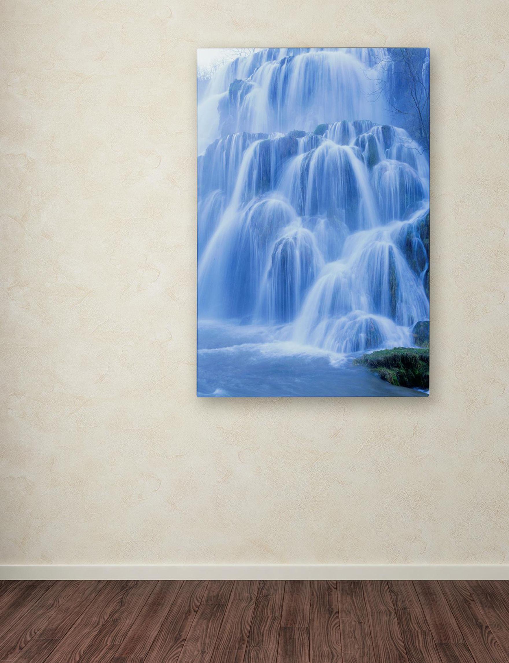 Trademark Fine Art Blue Wall Art Wall Decor
