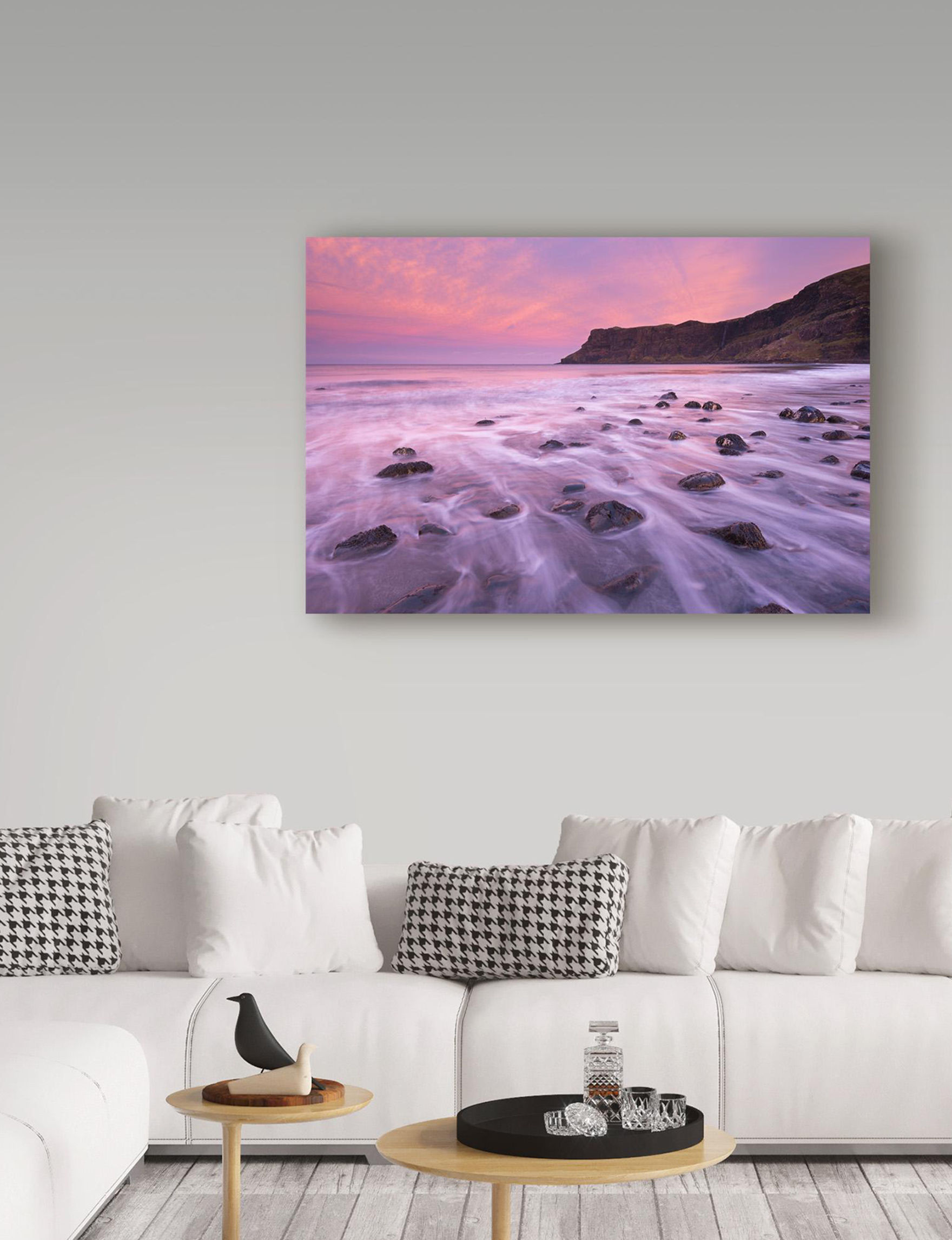 Trademark Fine Art Purple Multi Wall Art Wall Decor
