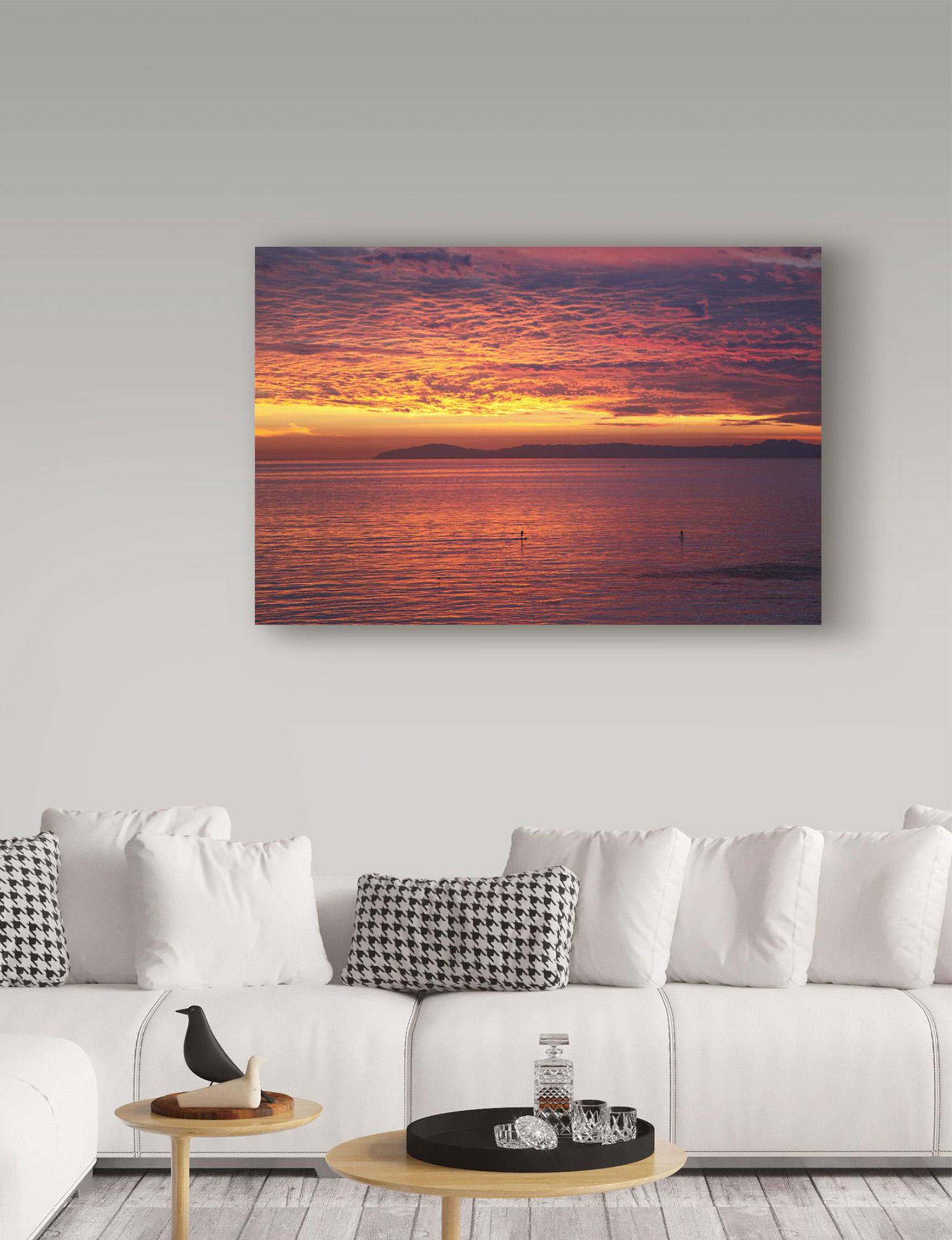 Trademark Fine Art Sun Orange Wall Art Home Accents Wall Decor