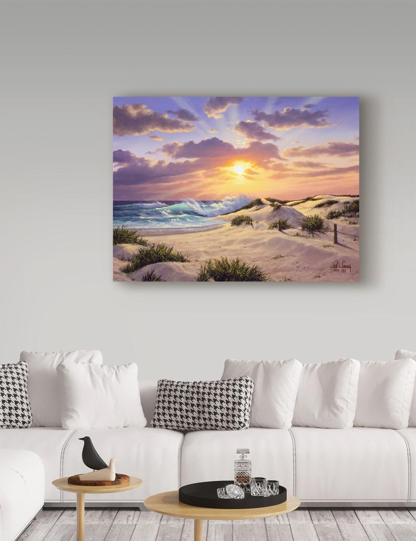 Trademark Fine Art Sunset Wall Art Home Accents Wall Decor