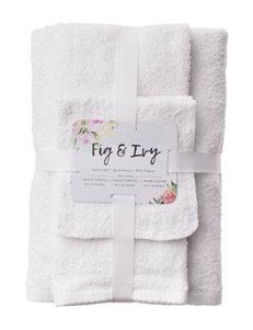 Fig & Ivy White Towel Sets Towels