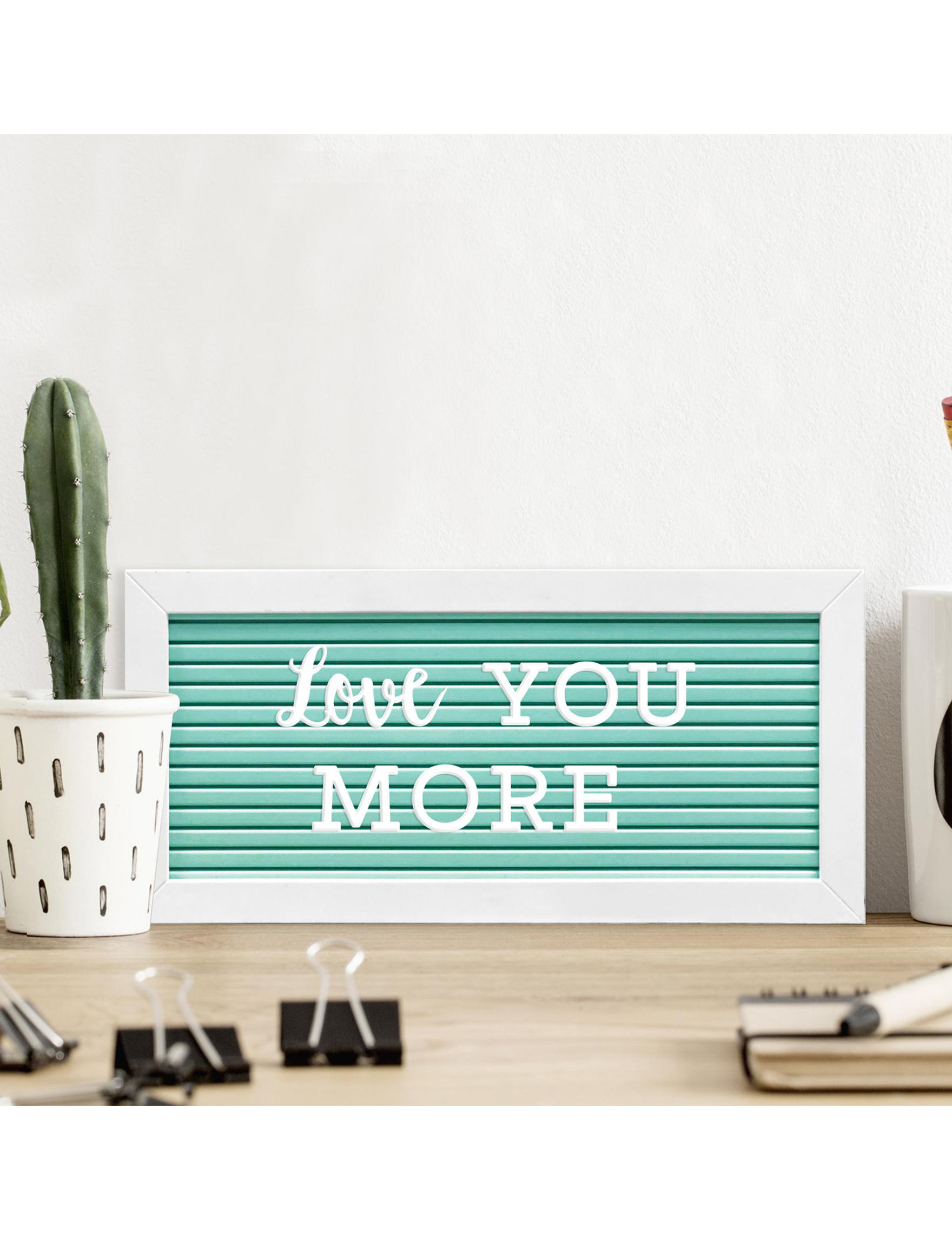 New View Green / White Frames & Shadow Boxes Home Accents