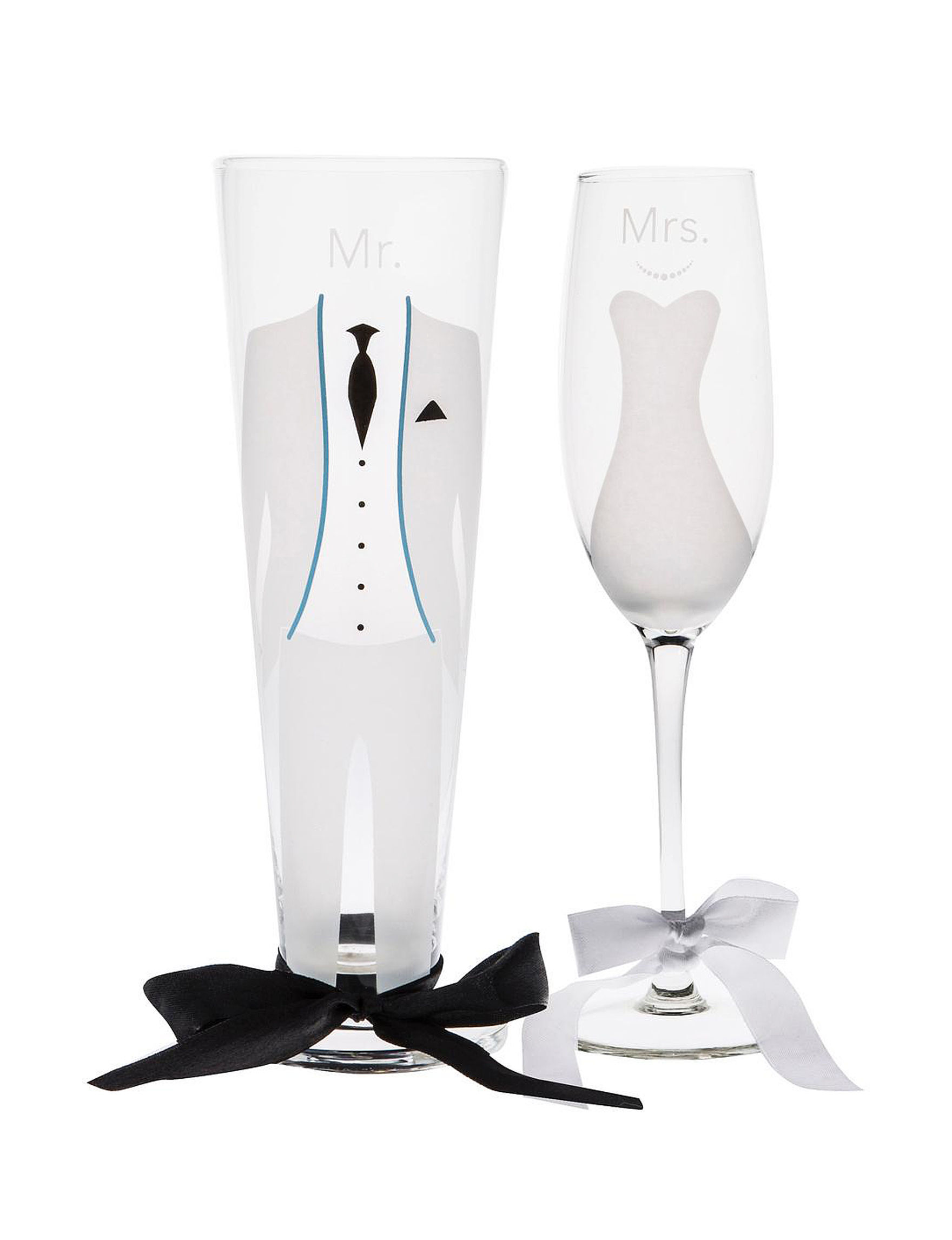 Home Essentials 2-pc. Tux & Dress Glasses | Stage Stores