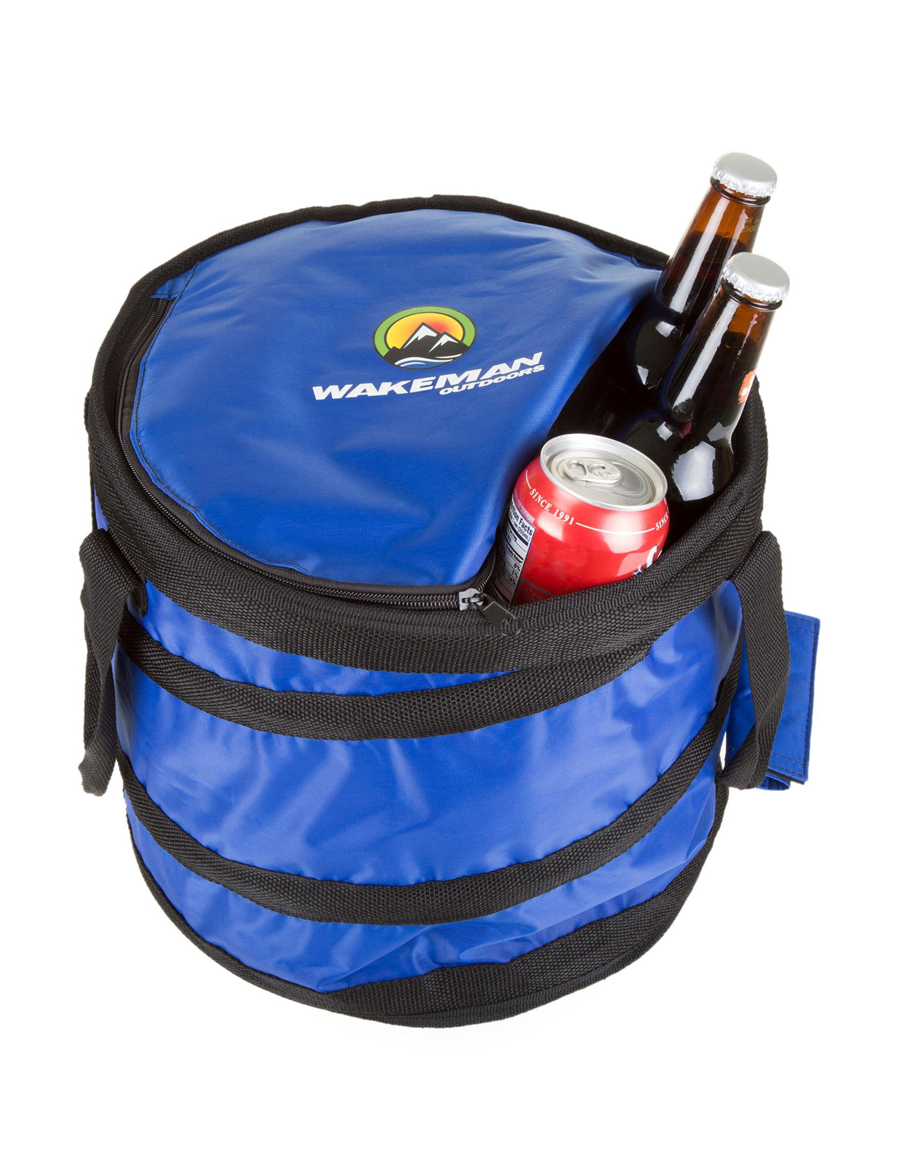 Wakeman Blue Coolers Camping & Outdoor Gear