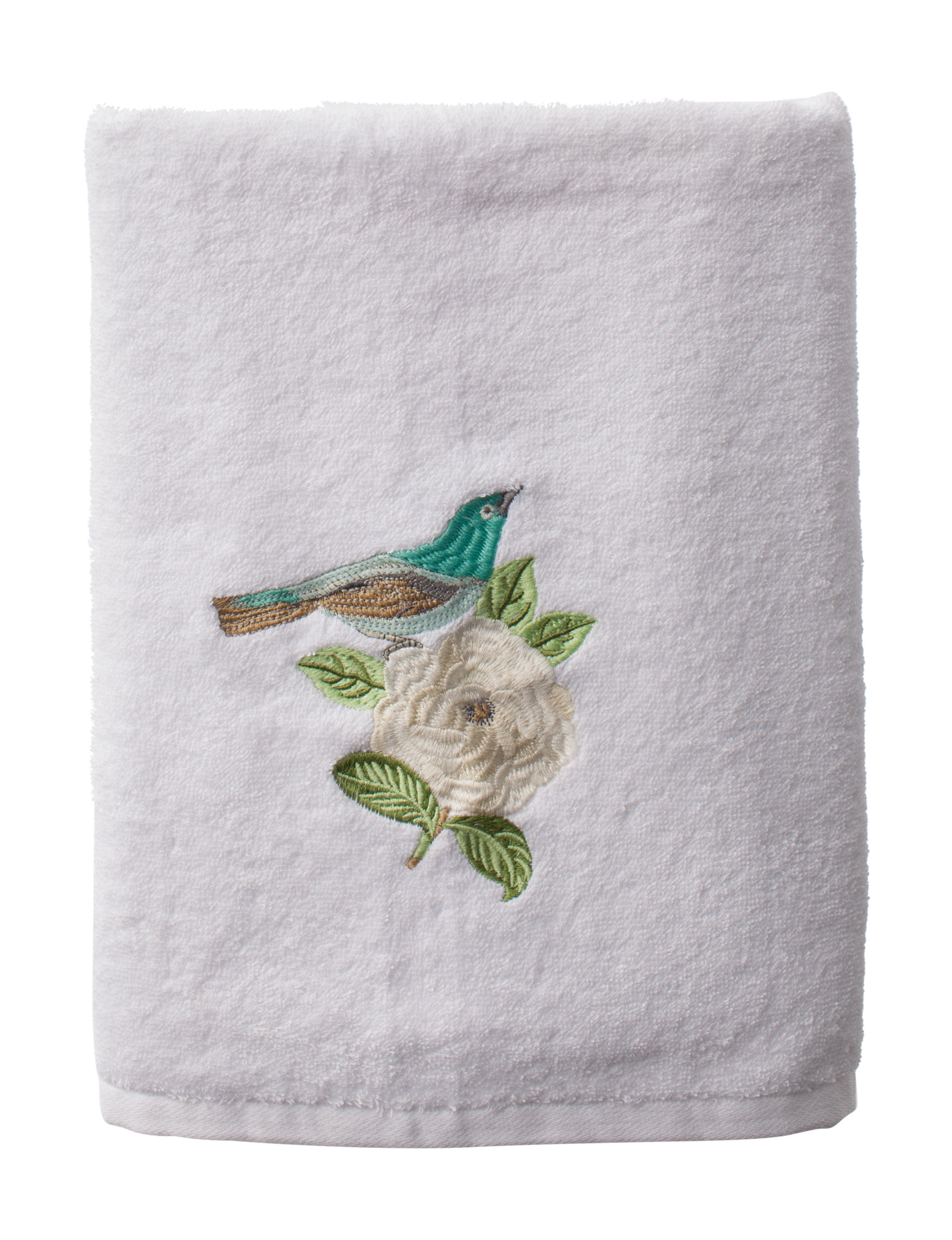 Avanti White Bath Towels Towels