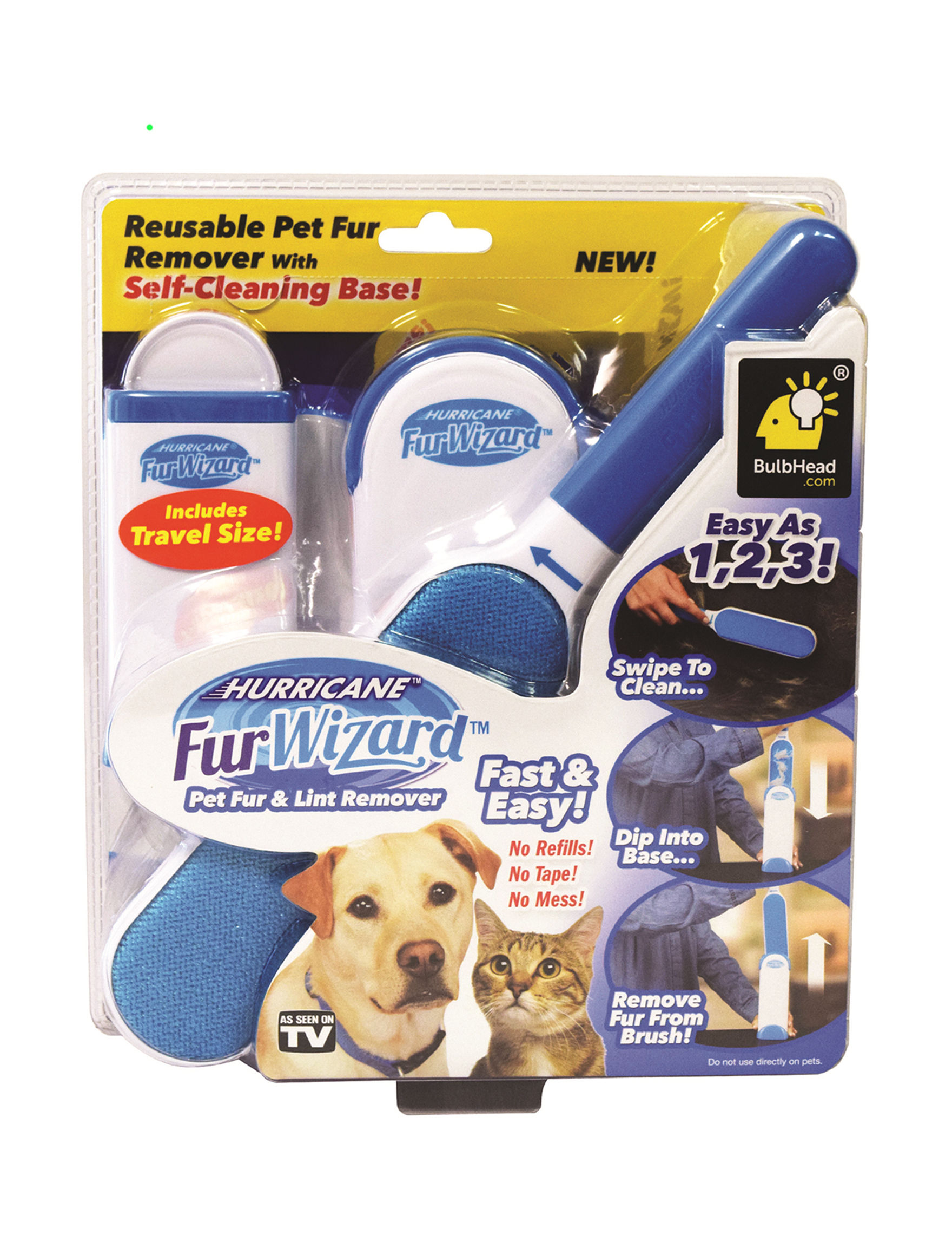 As Seen on TV White / Blue Pet Grooming