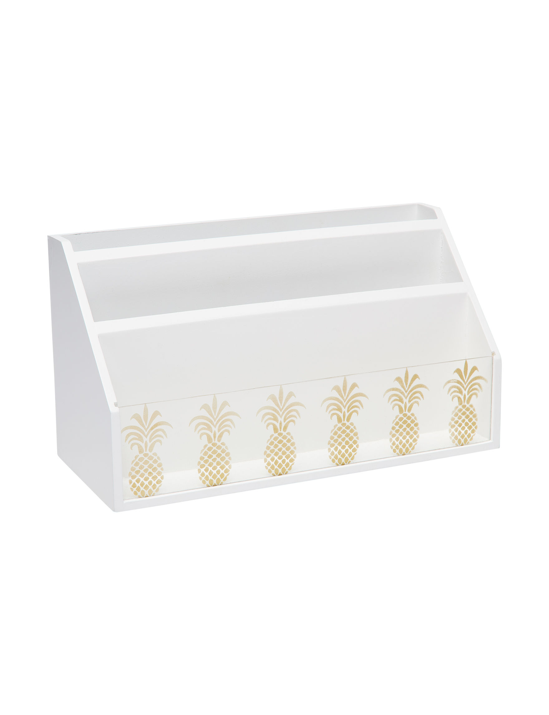 Home Essentials White Decorative Objects Home Accents