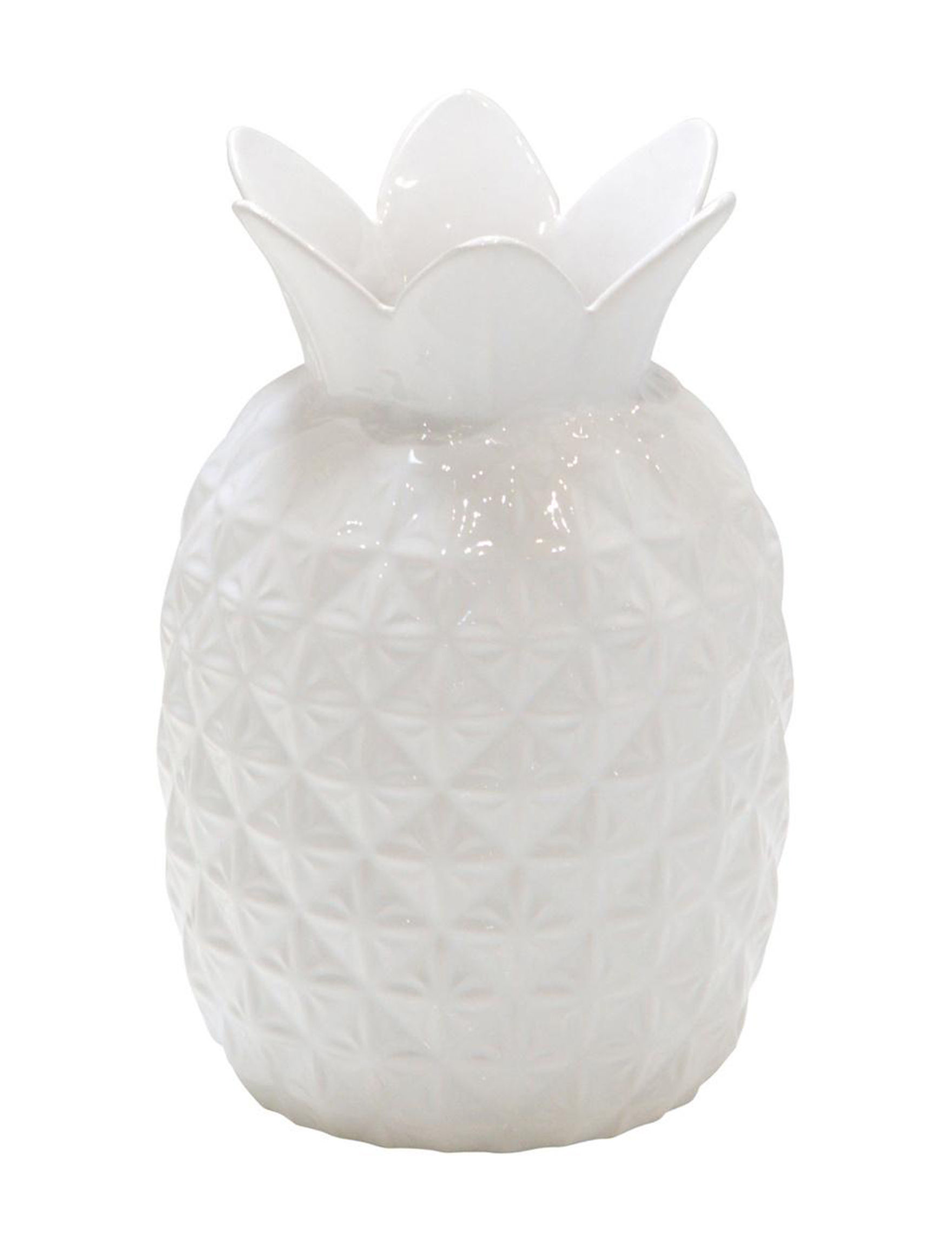 Home Essentials White Decorative Objects Vases & Decorative Bowls Home Accents