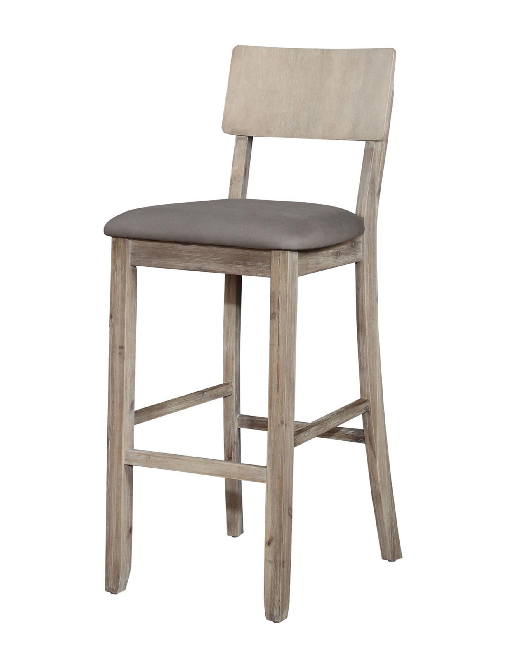 Linon Gray Bar & Kitchen Stools Kitchen & Dining Furniture