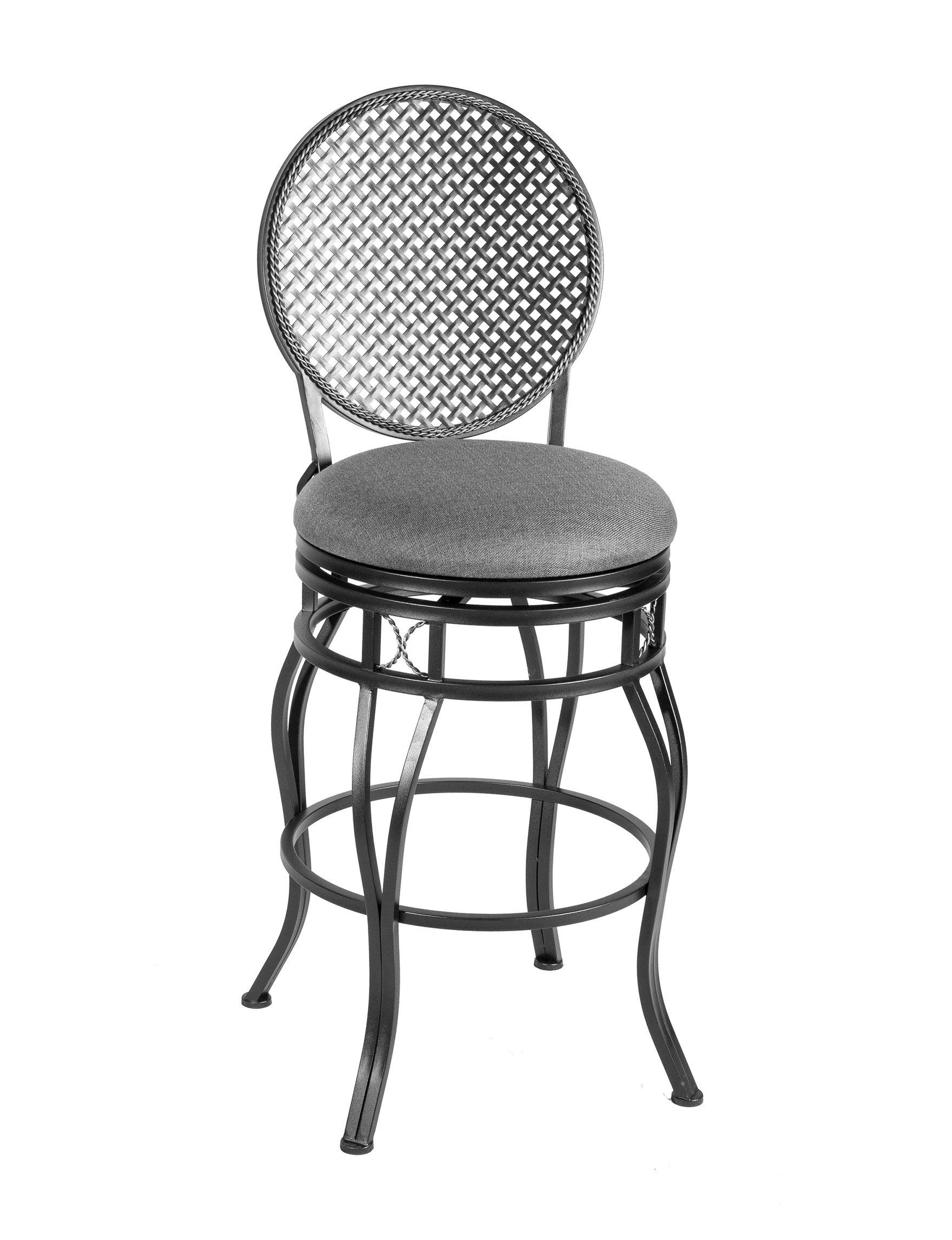 Linon Grey Bar & Kitchen Stools Kitchen & Dining Furniture