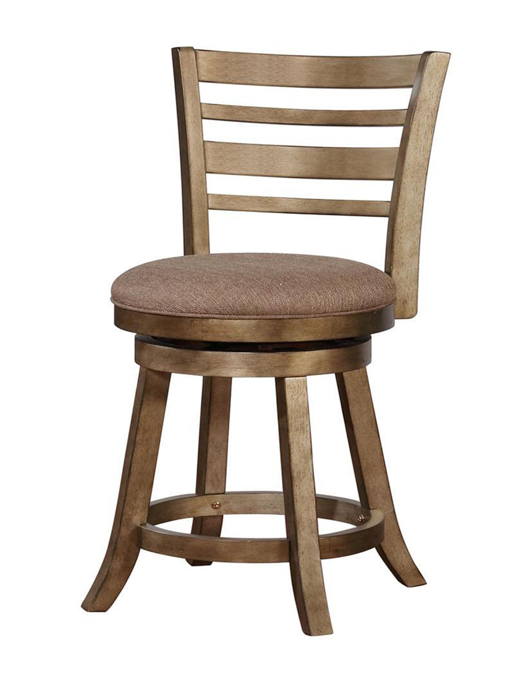 Linon Brown Bar & Kitchen Stools Kitchen & Dining Furniture