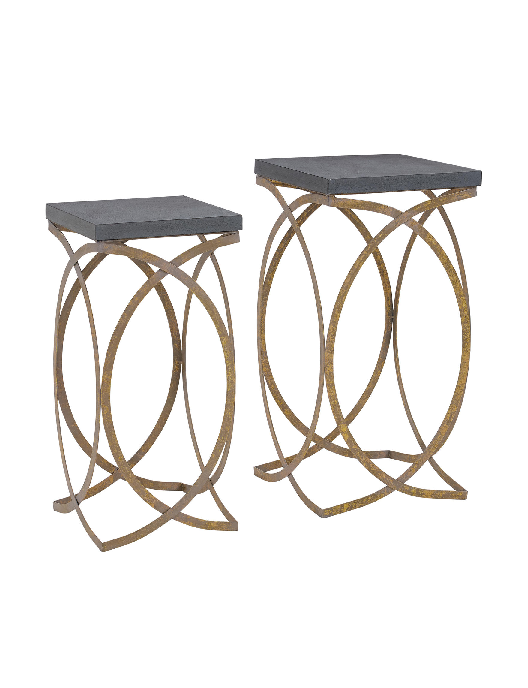 Linon Grey Accent & End Tables Living Room Furniture