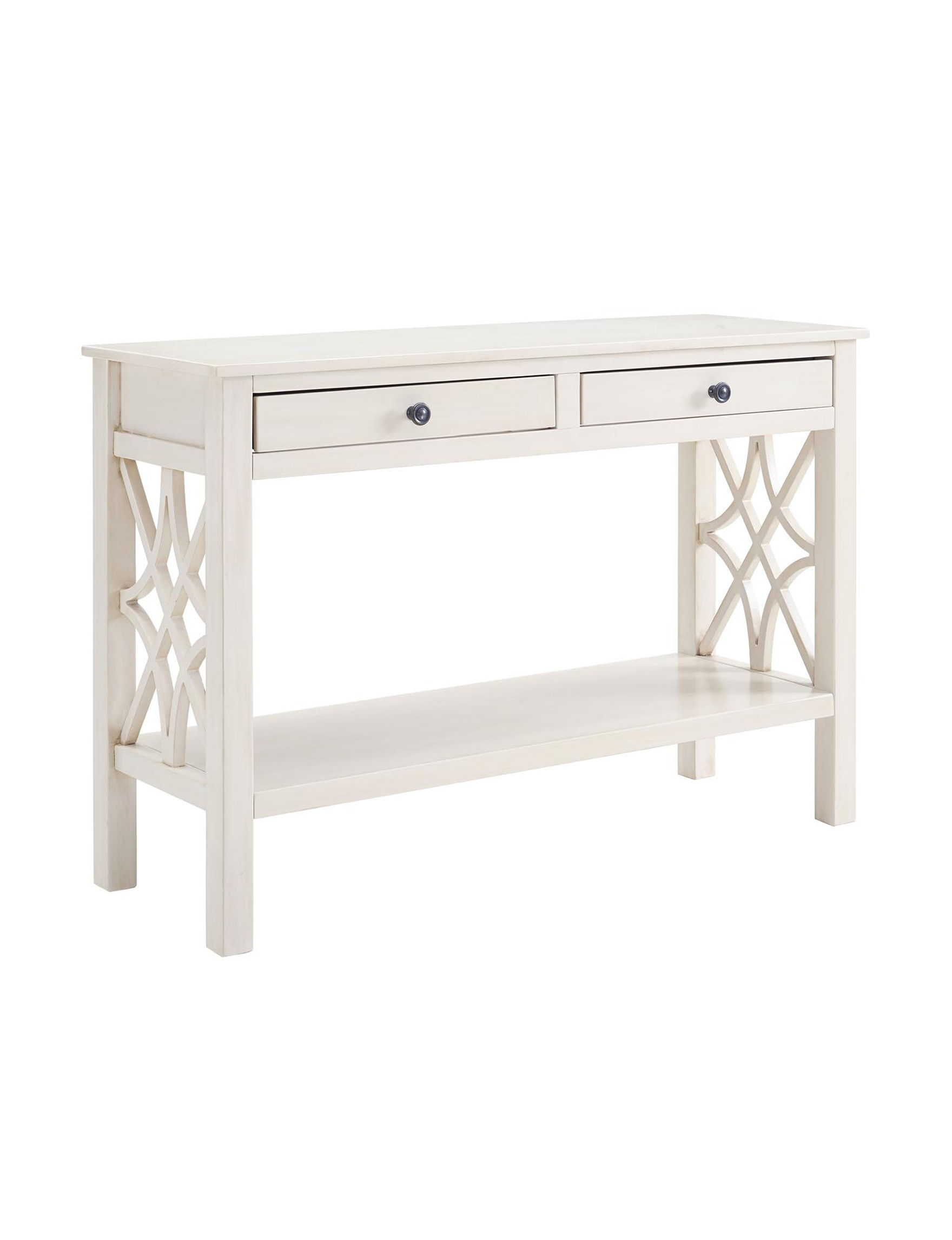Linon White TV Stands & Entertainment Centers Living Room Furniture