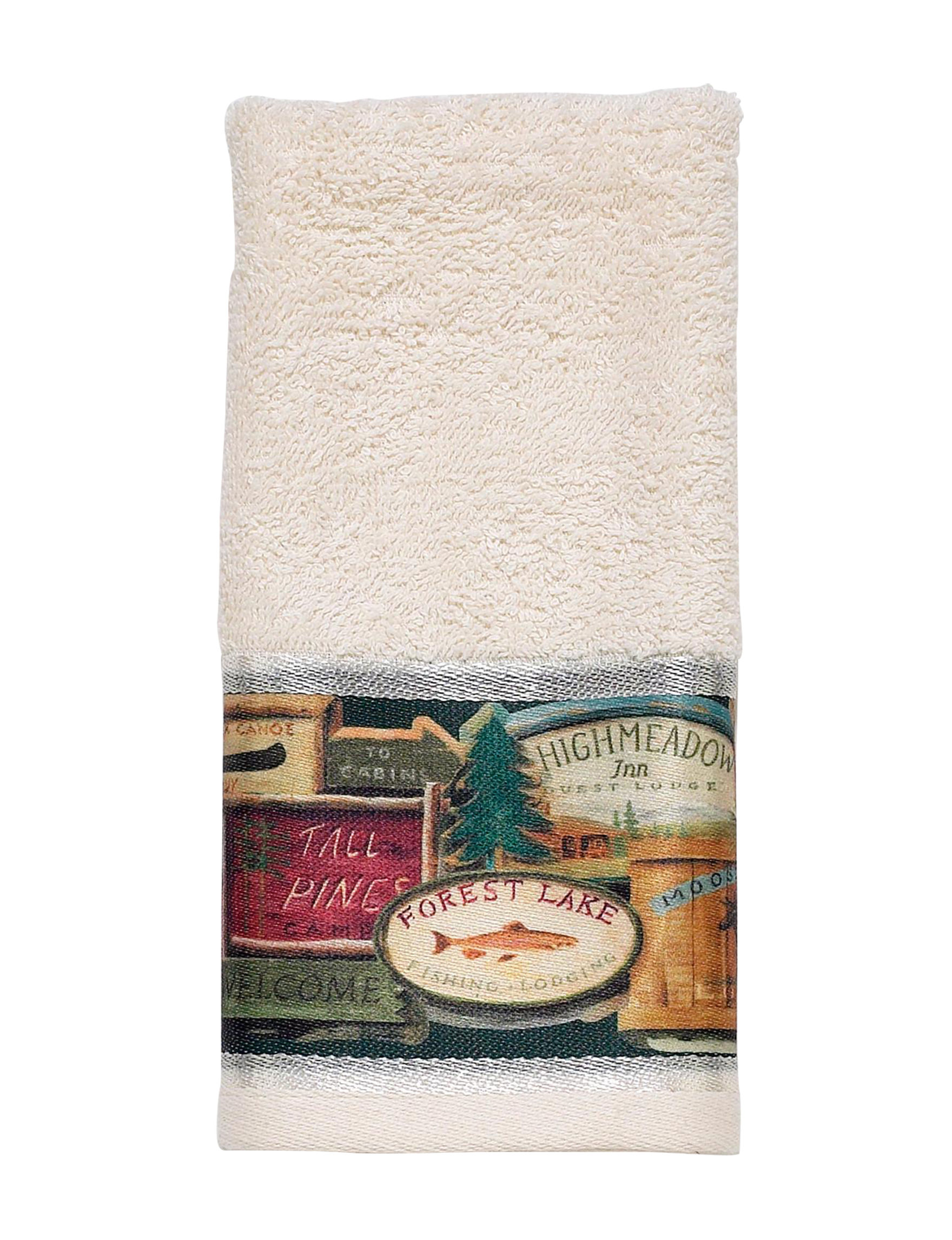 Avanti Beige / Multi Hand Towels Towels