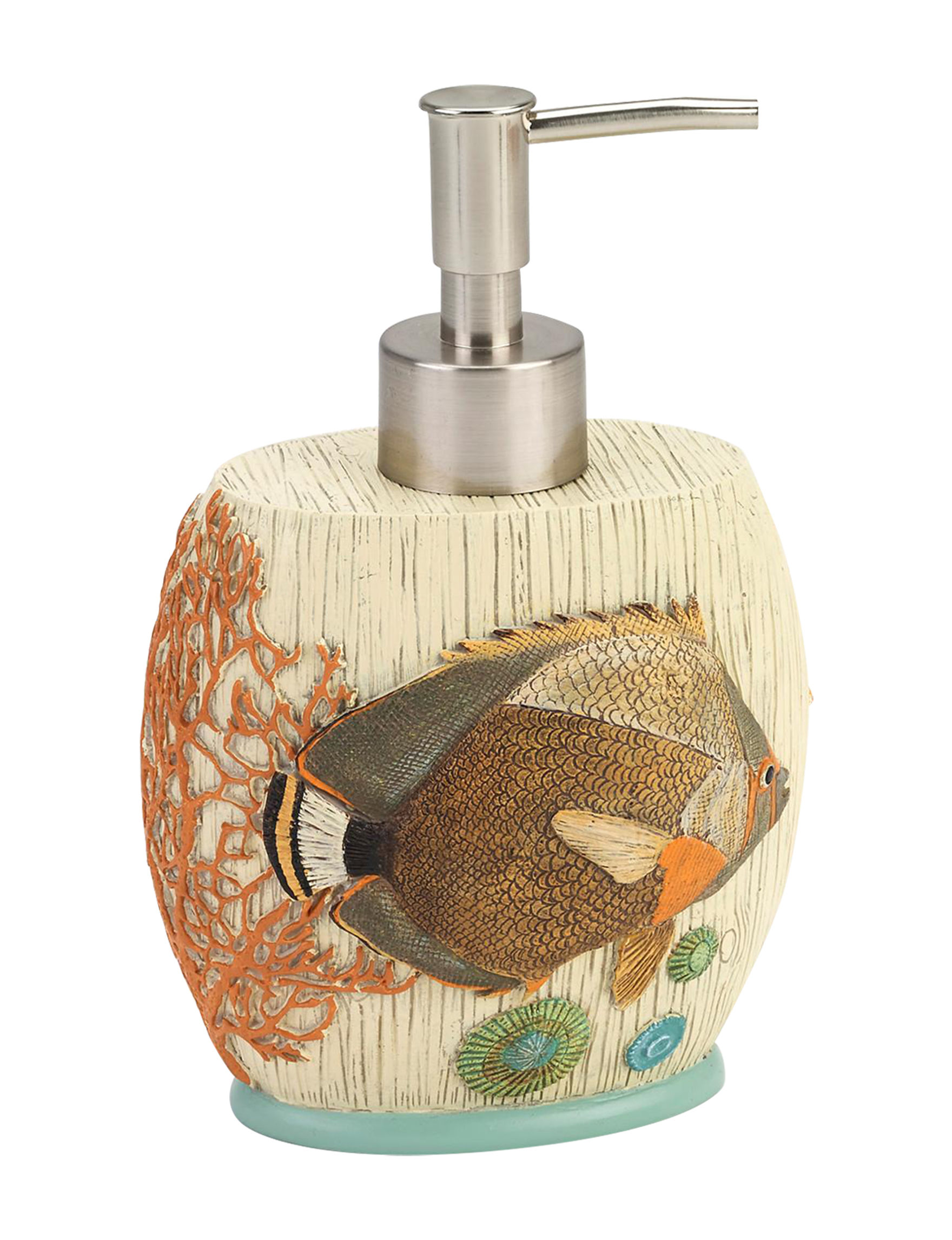 Avanti Beige / Multi Soap & Lotion Dispensers Bath Accessories
