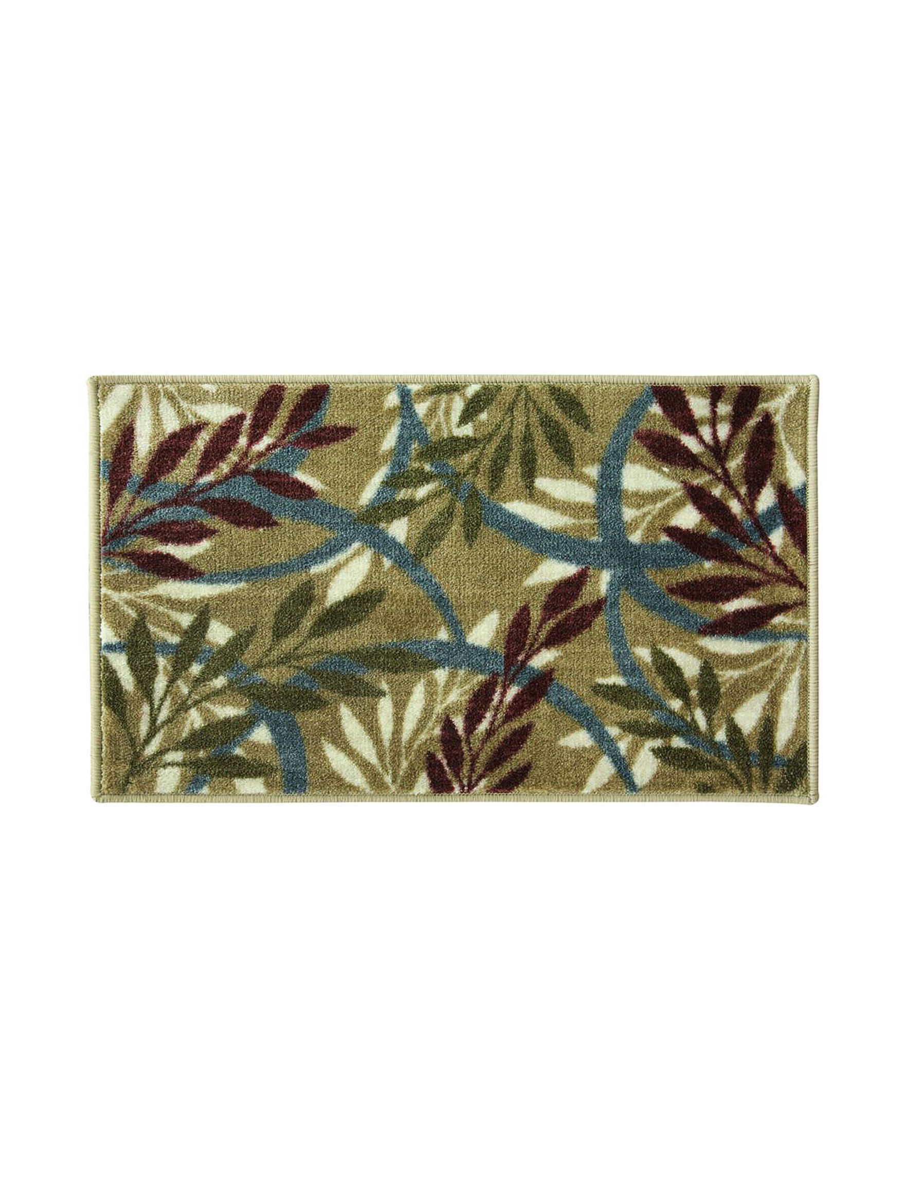 Bacova Guild Green Multi Accent Rugs Decorative Objects Rugs