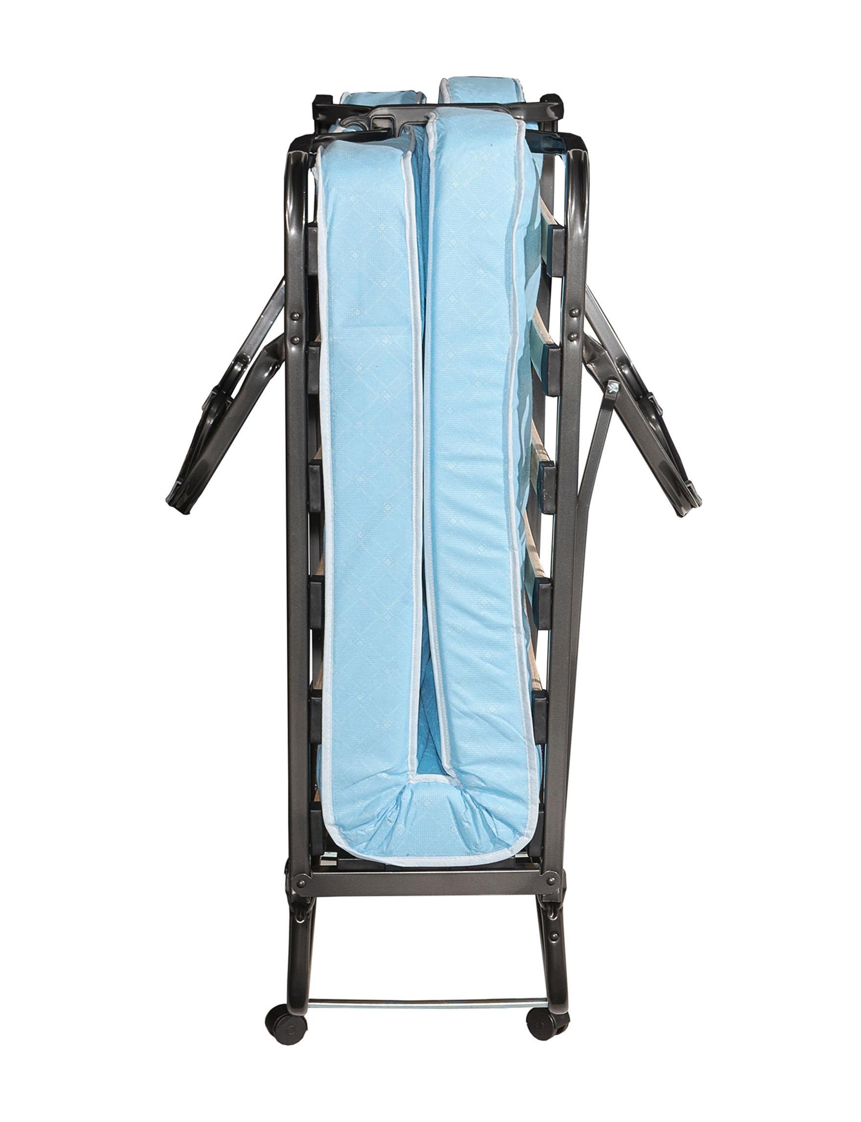 Linon Light Blue Beds & Headboards Bedroom Furniture