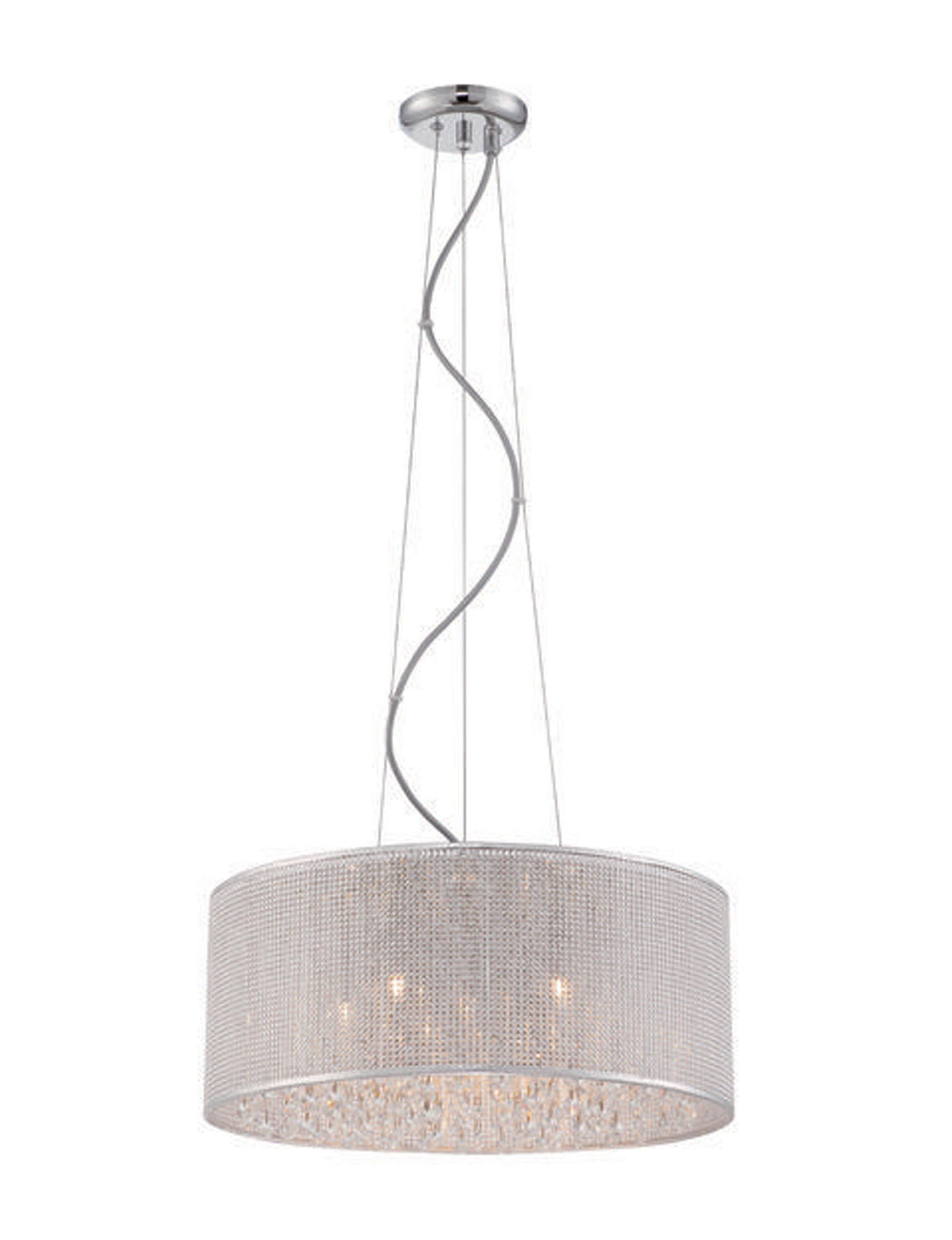 Decor Therapy Chrome Chandeliers Lights & Lanterns Lighting & Lamps