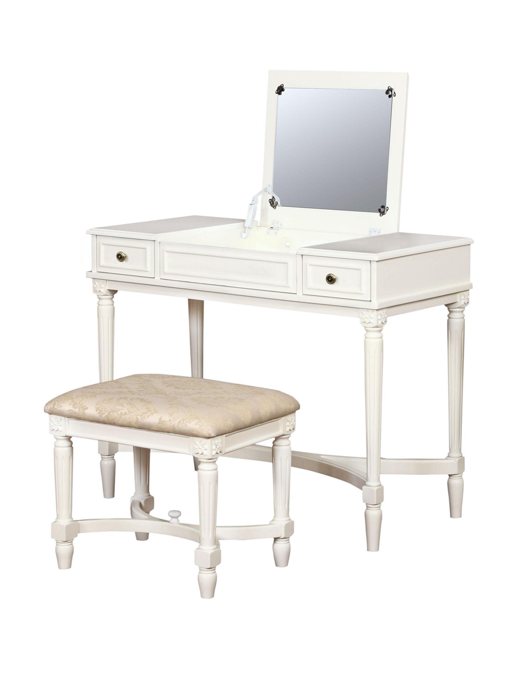 Linon Beige Bedroom Furniture