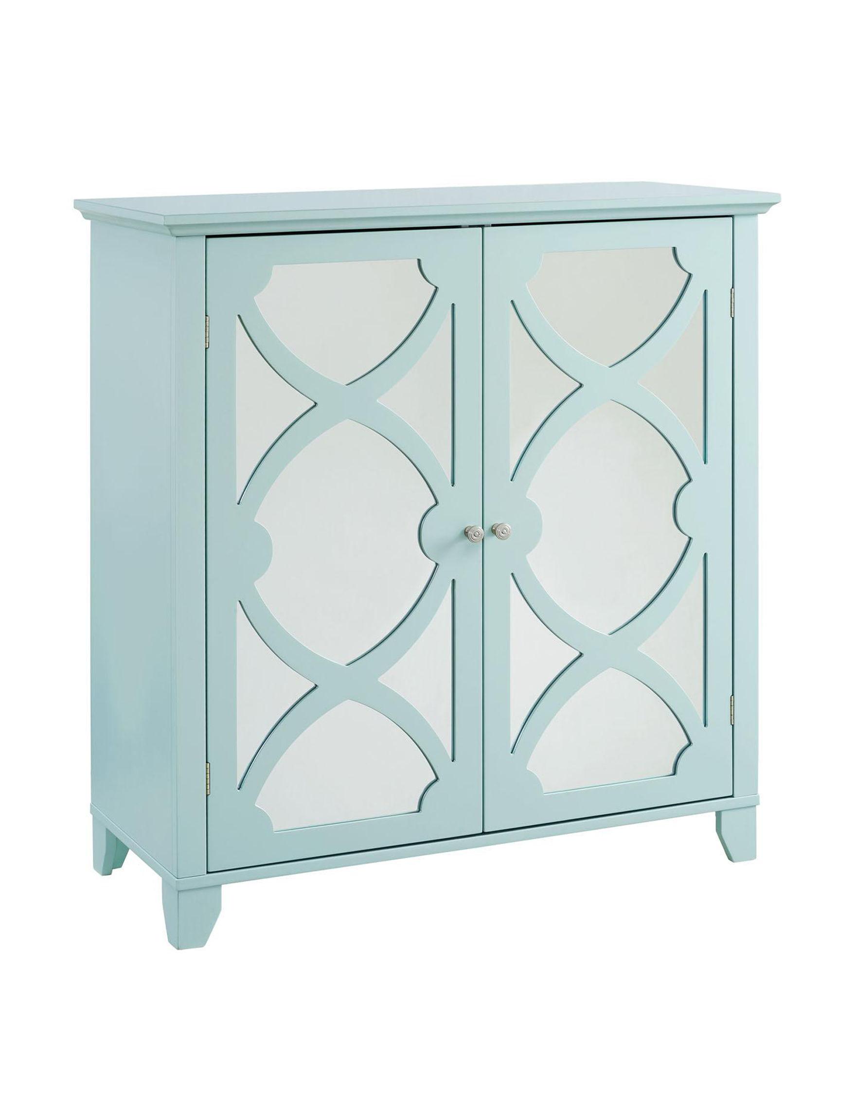 Linon Sea Foam Cabinets & Cupboards Living Room Furniture