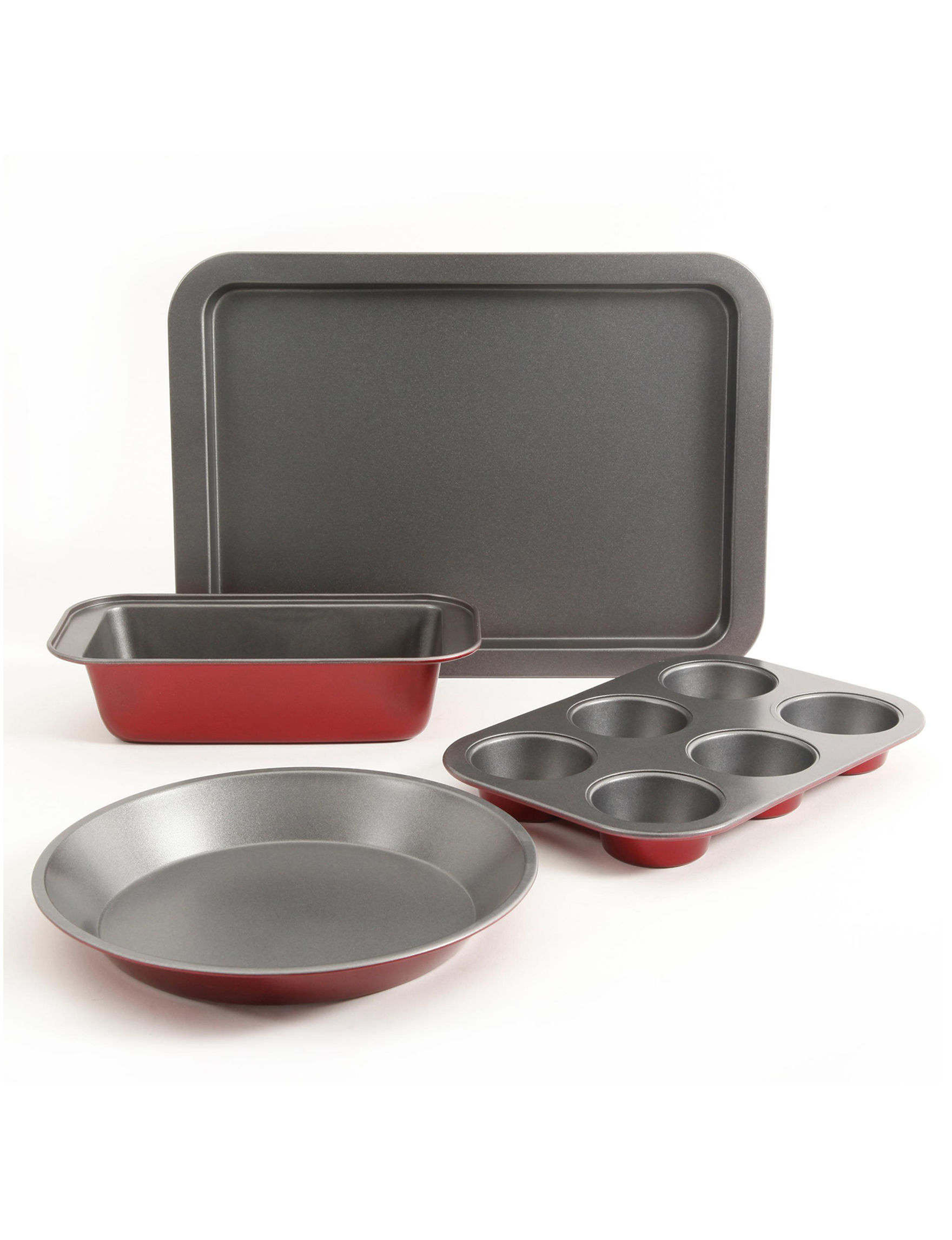 Gibson Red Bakeware Sets Bakeware Cookware