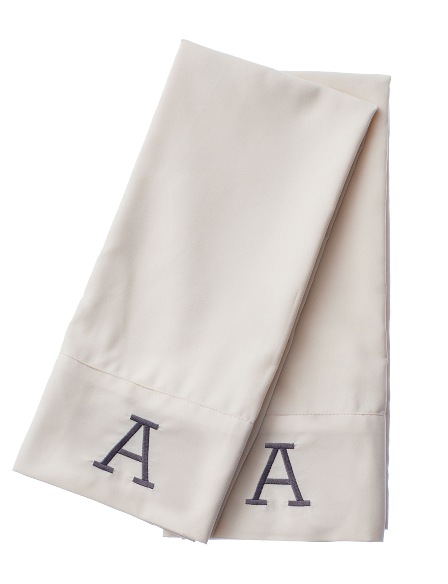 Great Hotels Collection Ivory Monogram Sheets & Pillowcases