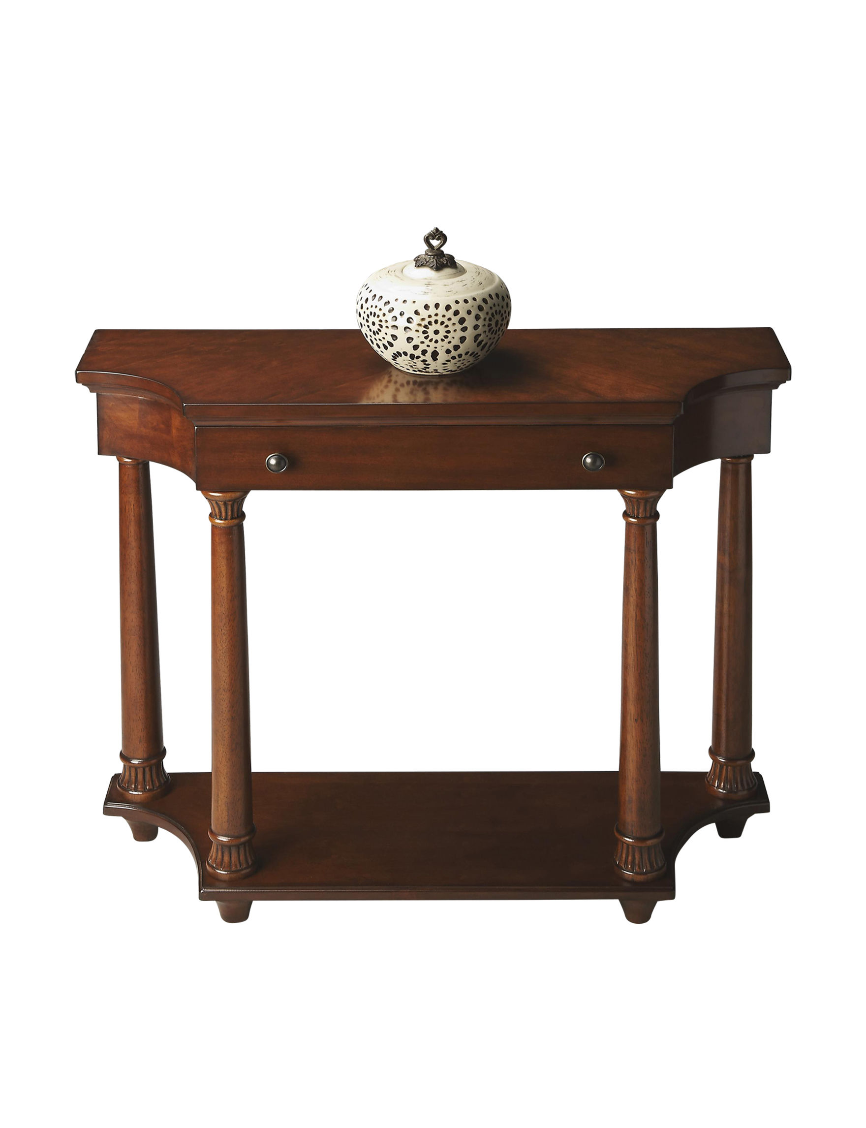 Butler Specialty Co. Brown Accent & End Tables Bedroom Furniture Living Room Furniture