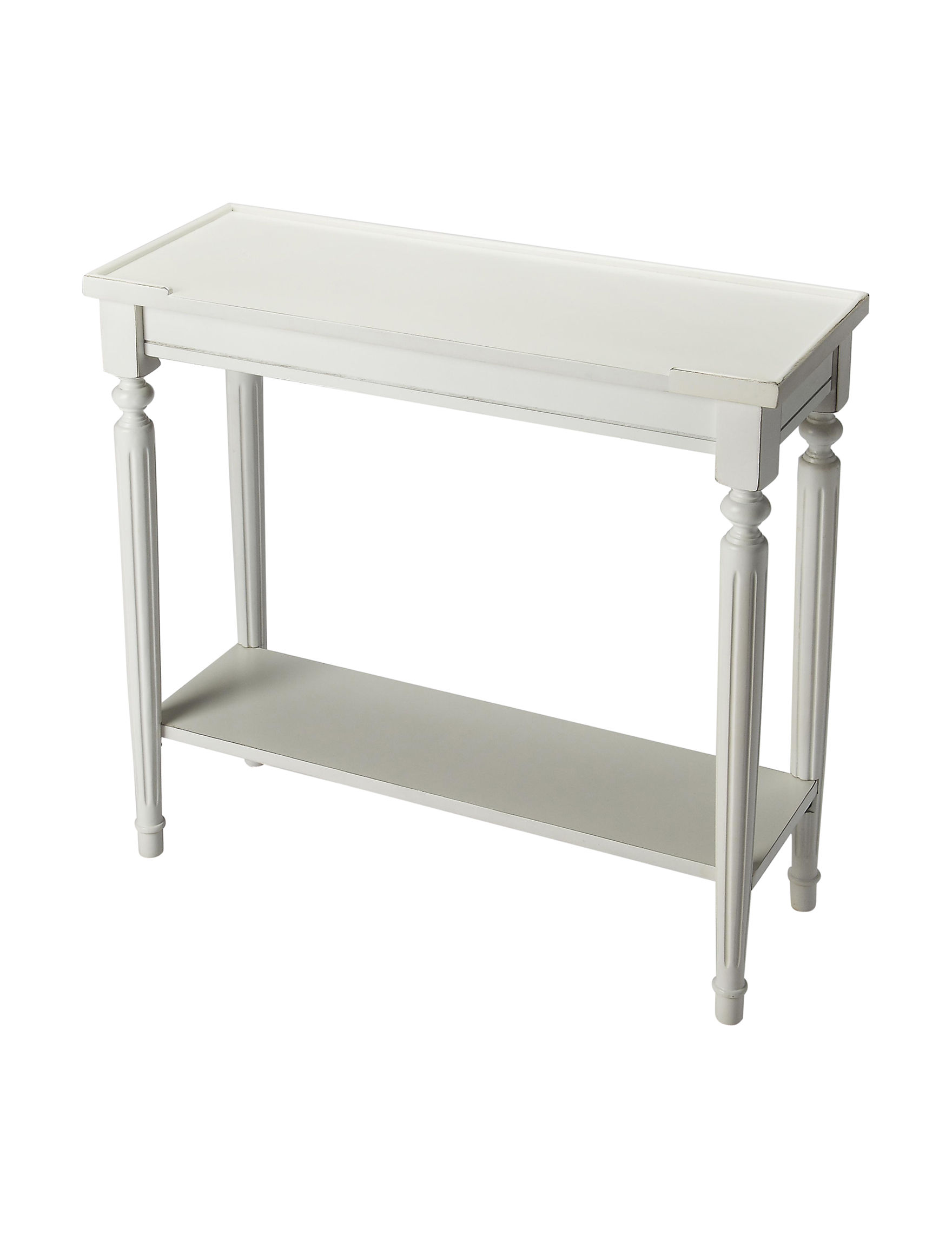 Butler Specialty Co. Off White Accent & End Tables Bedroom Furniture Living Room Furniture