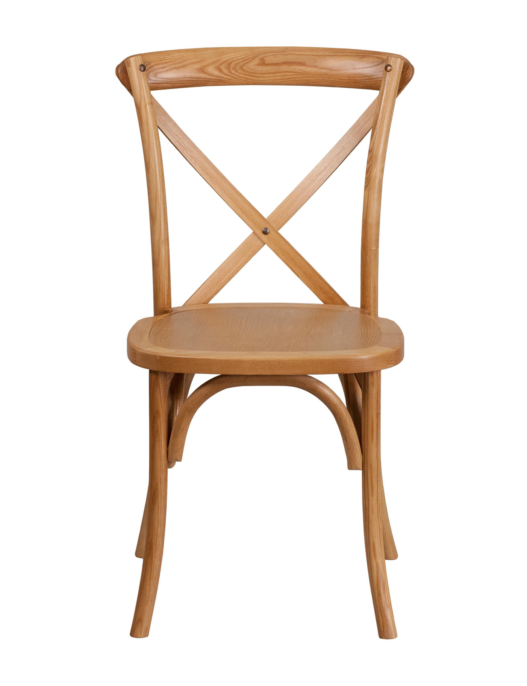 Flash Furniture Oak Dining Chairs Kitchen & Dining Furniture