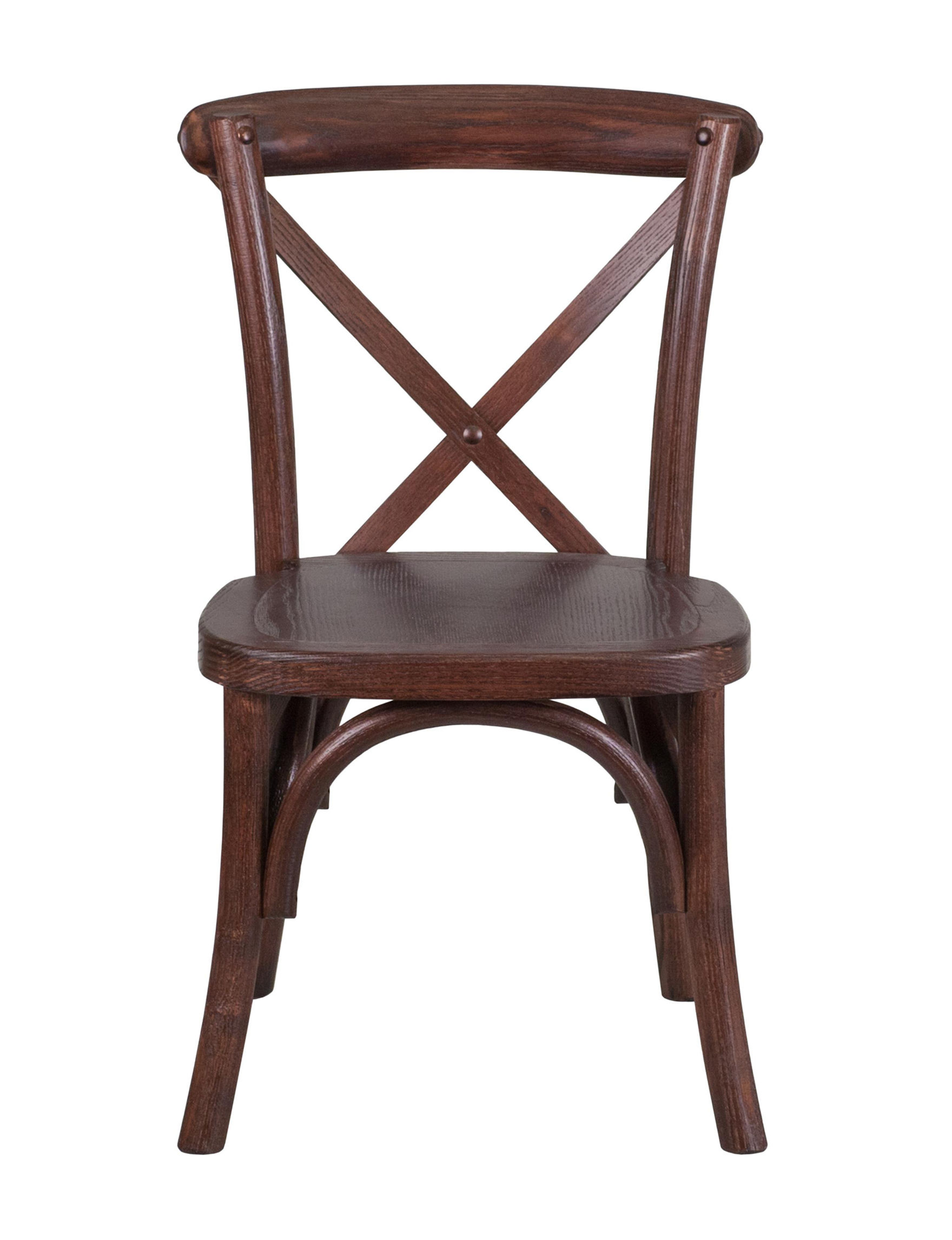 Flash Furniture Mahogany Dining Chairs Kitchen & Dining Furniture